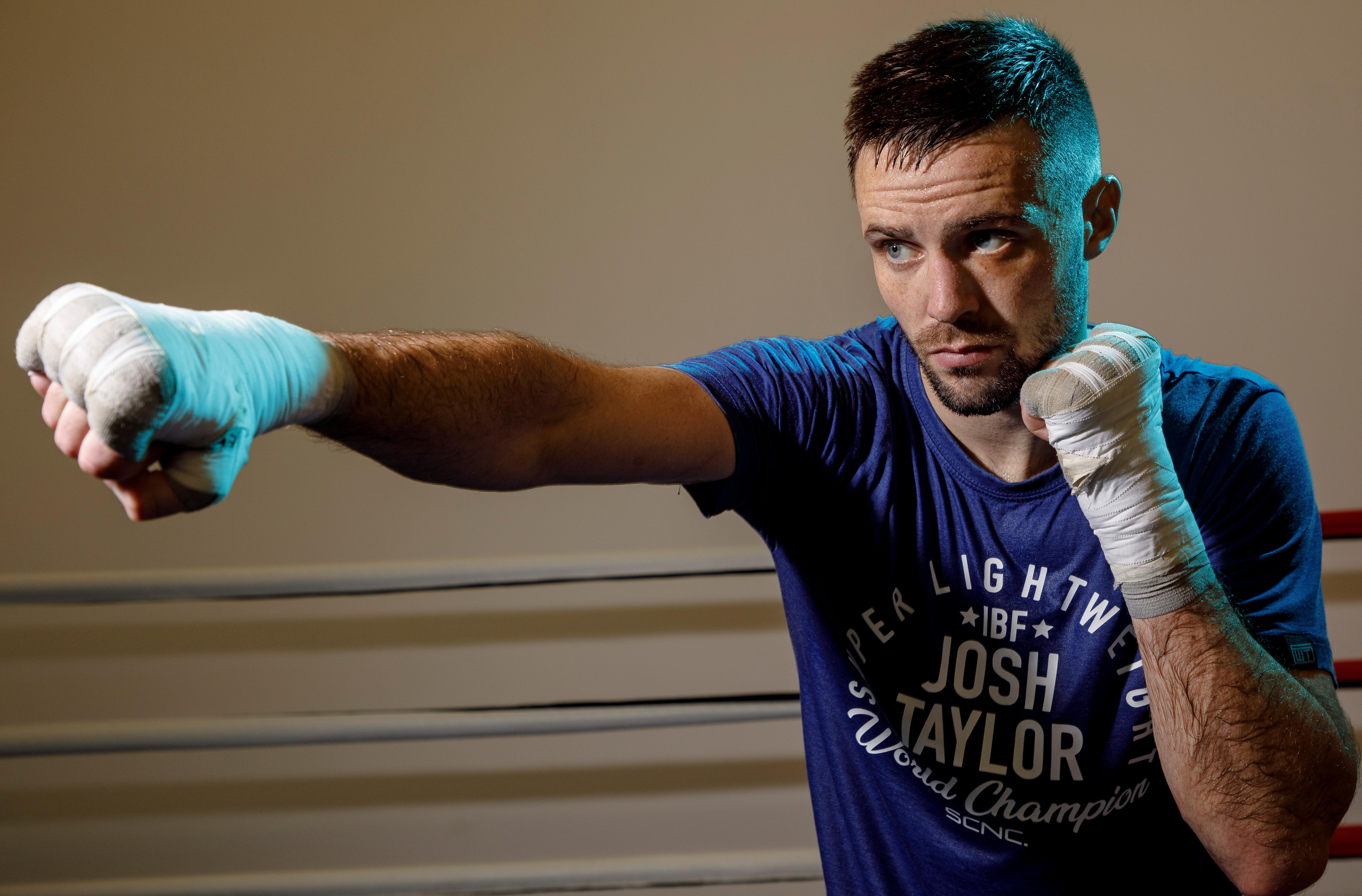 Josh Taylor: 'I was always smaller than everyone … I would fight them straight away'