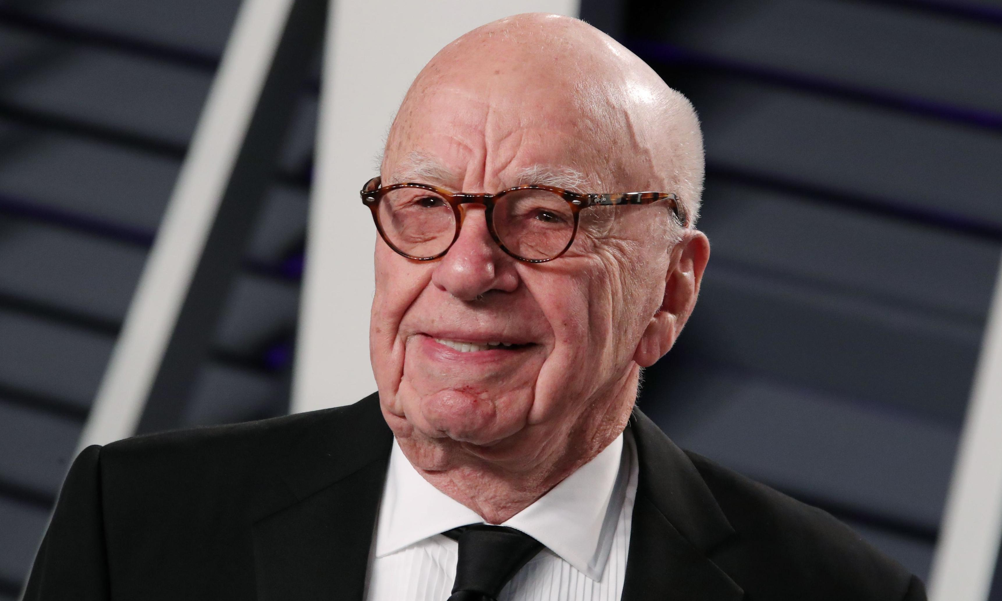 Rupert Murdoch says 'no climate change deniers around' – but his writers prove him wrong