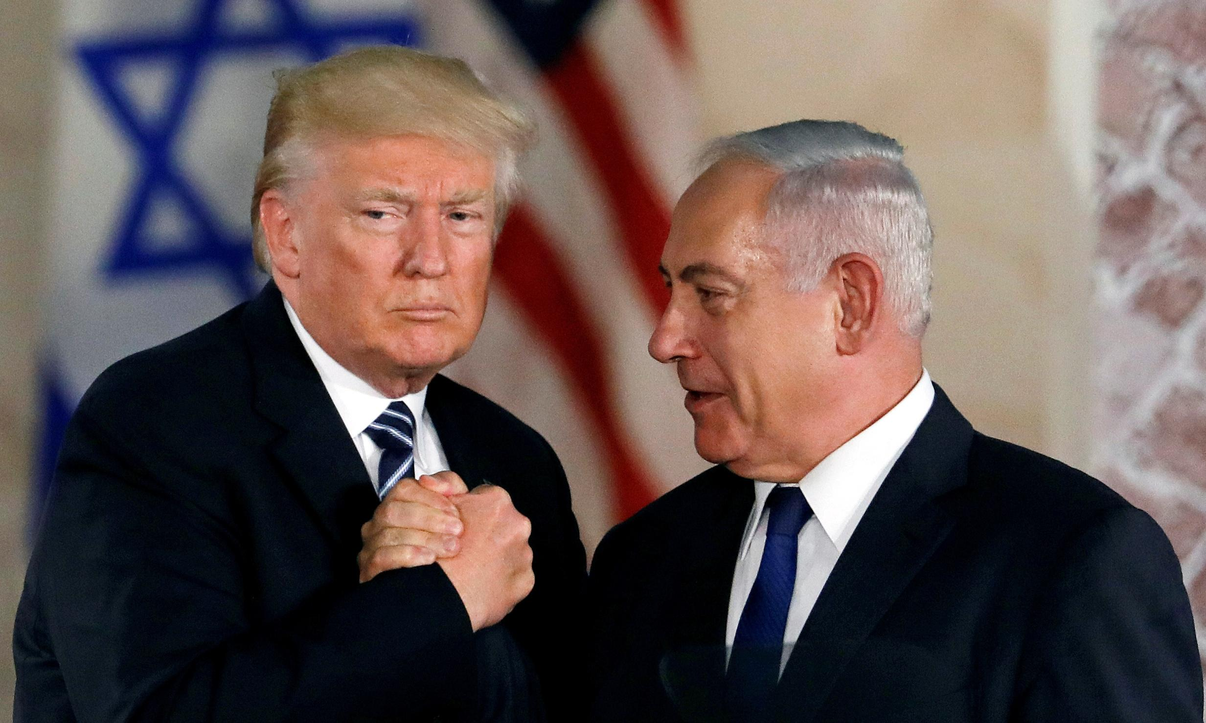 Palestinian president warns US and Israel as Trump plan looms