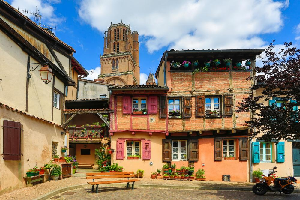Albi old town