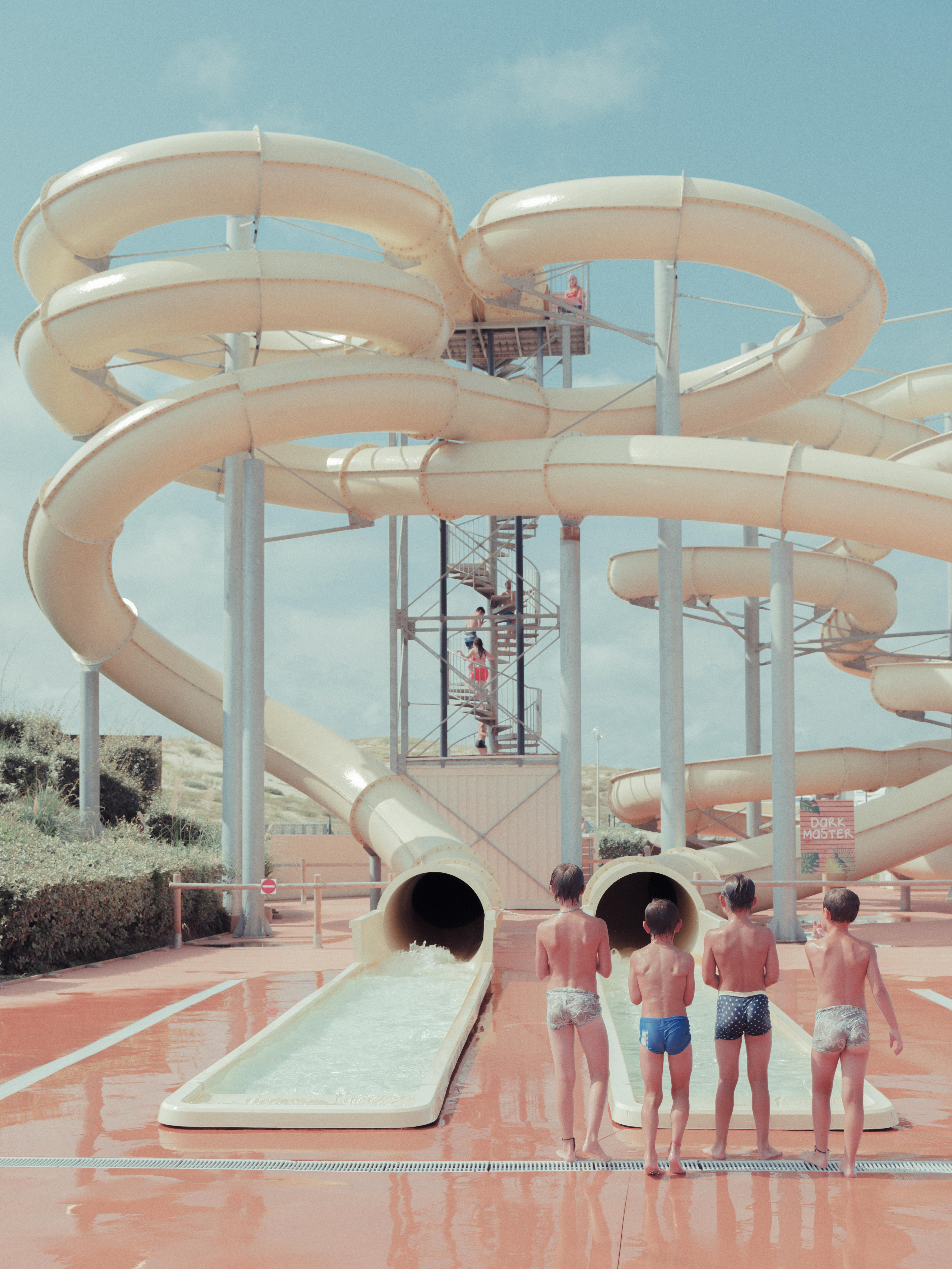 The big picture: joy and nostalgia in a French water park