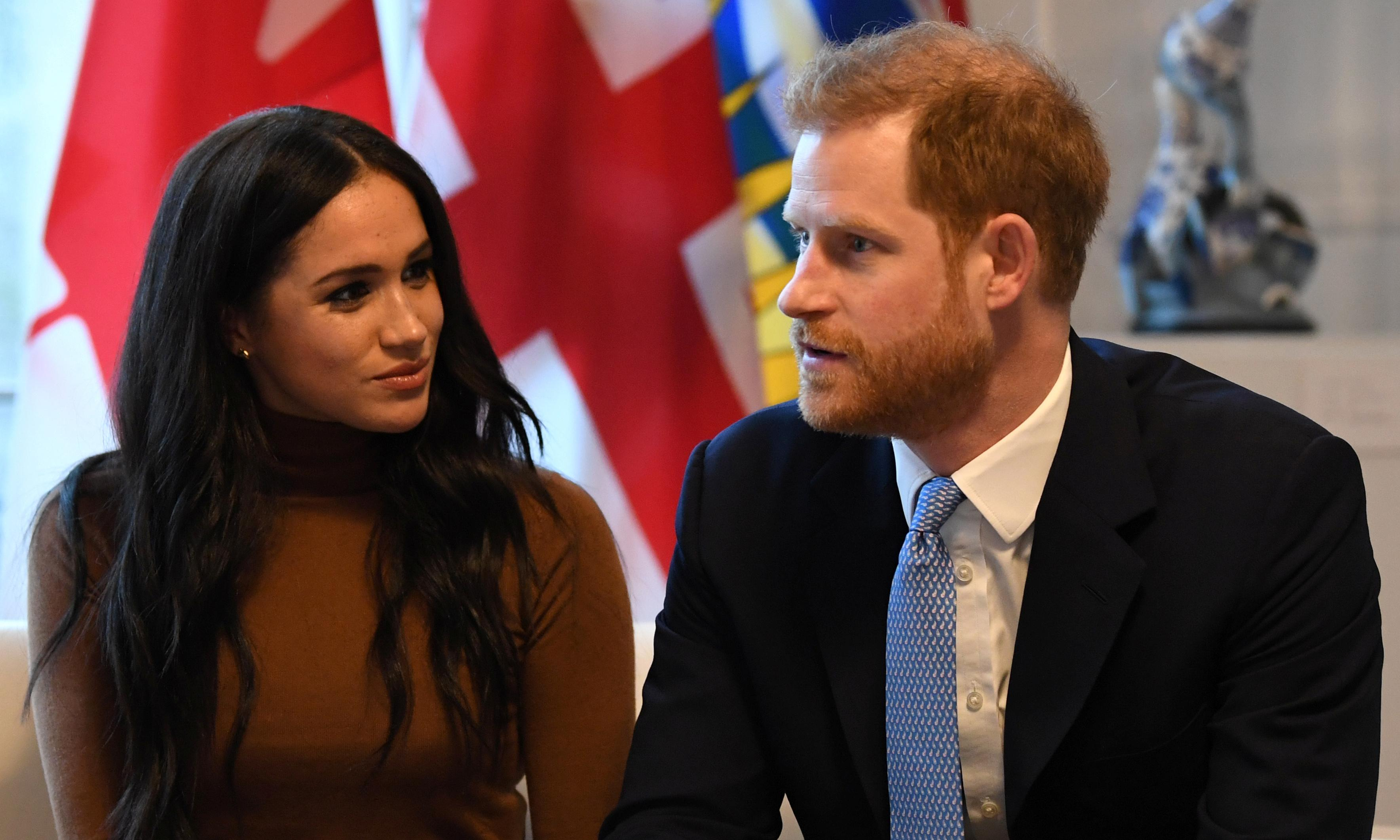Harry and Meghan to drop HRH titles and repay £2.4m
