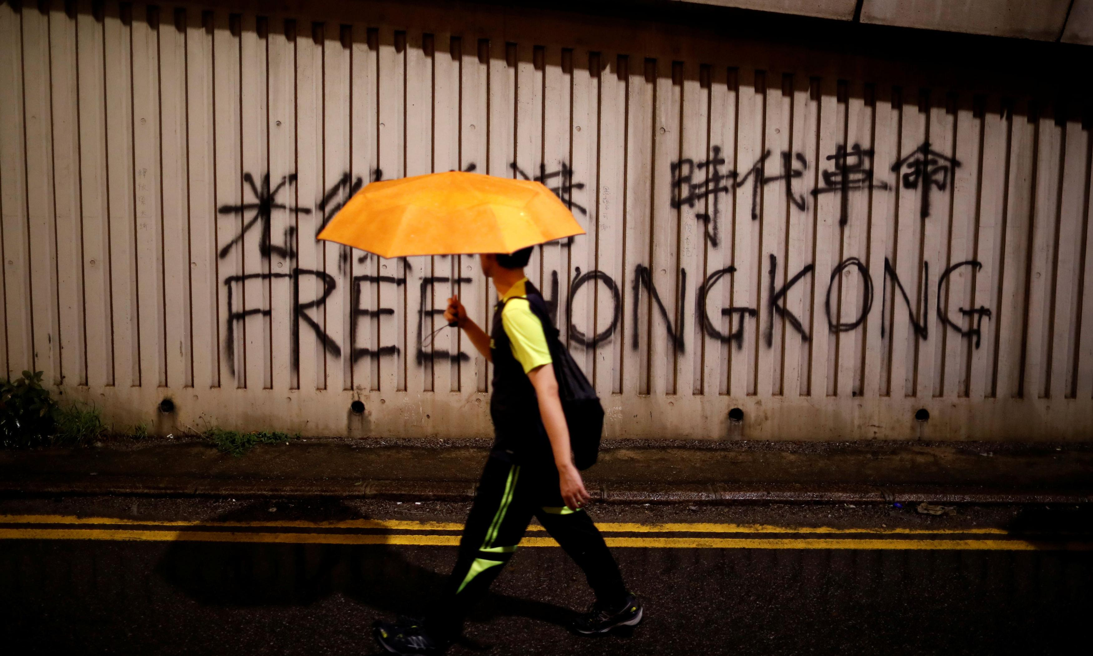 'We can't do anything': China accused of muffling voices of Hong Kong supporters