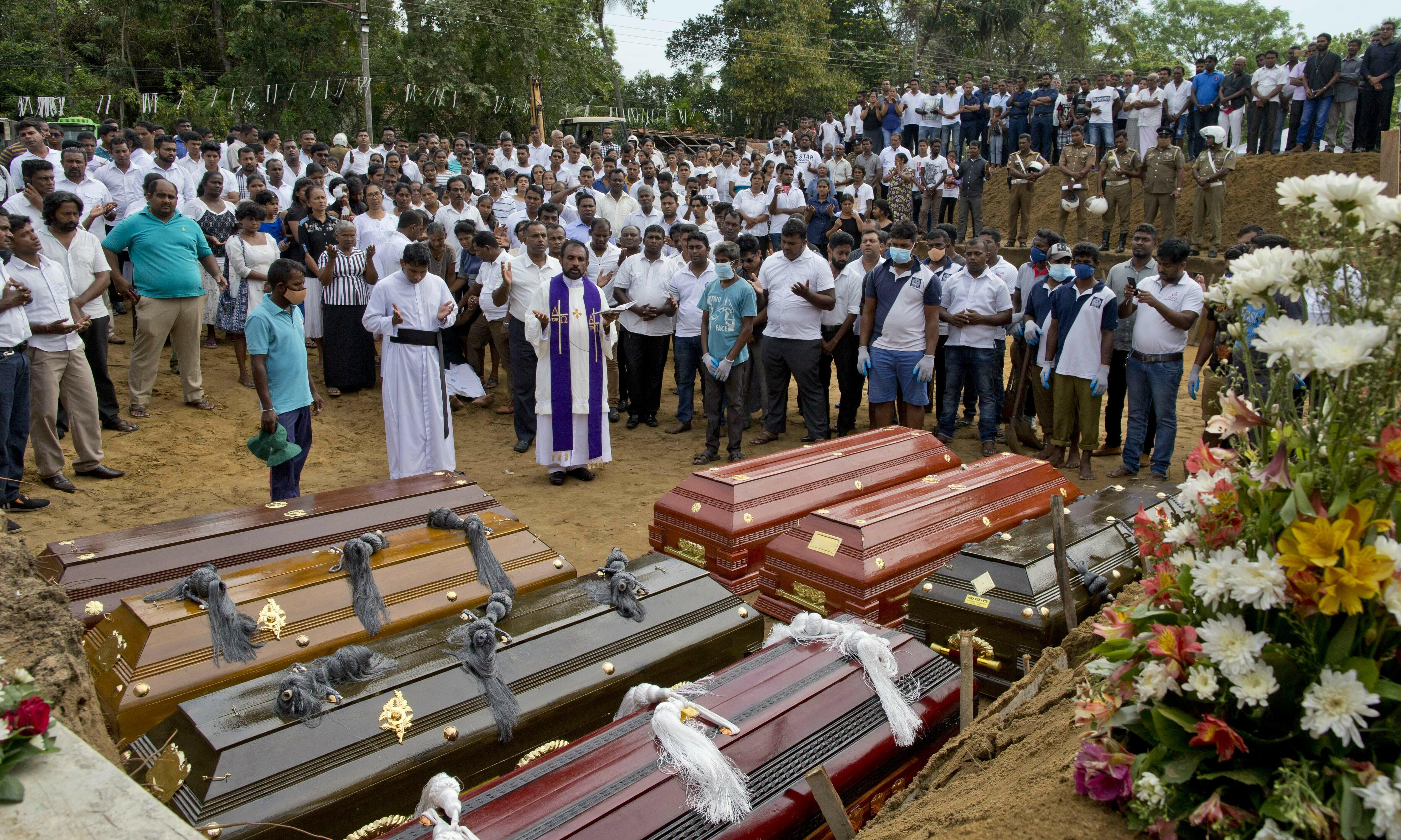 Sri Lanka attacker studied in UK and Australia, says minister