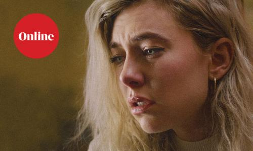 A still from the film Pieces of a Woman, starring BAFTA-nominated Vanessa Kirby