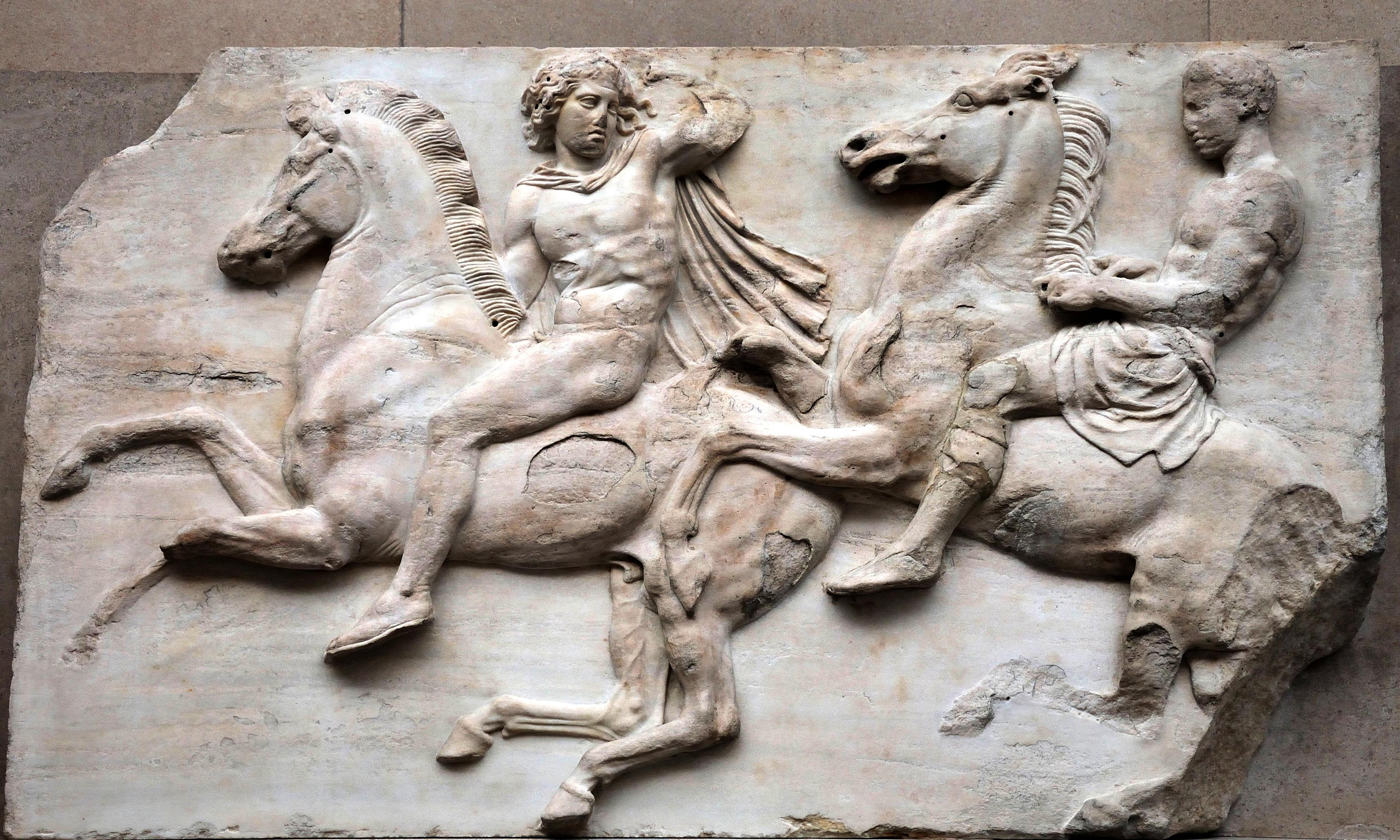My solution to the Parthenon marbles – let's split them in half