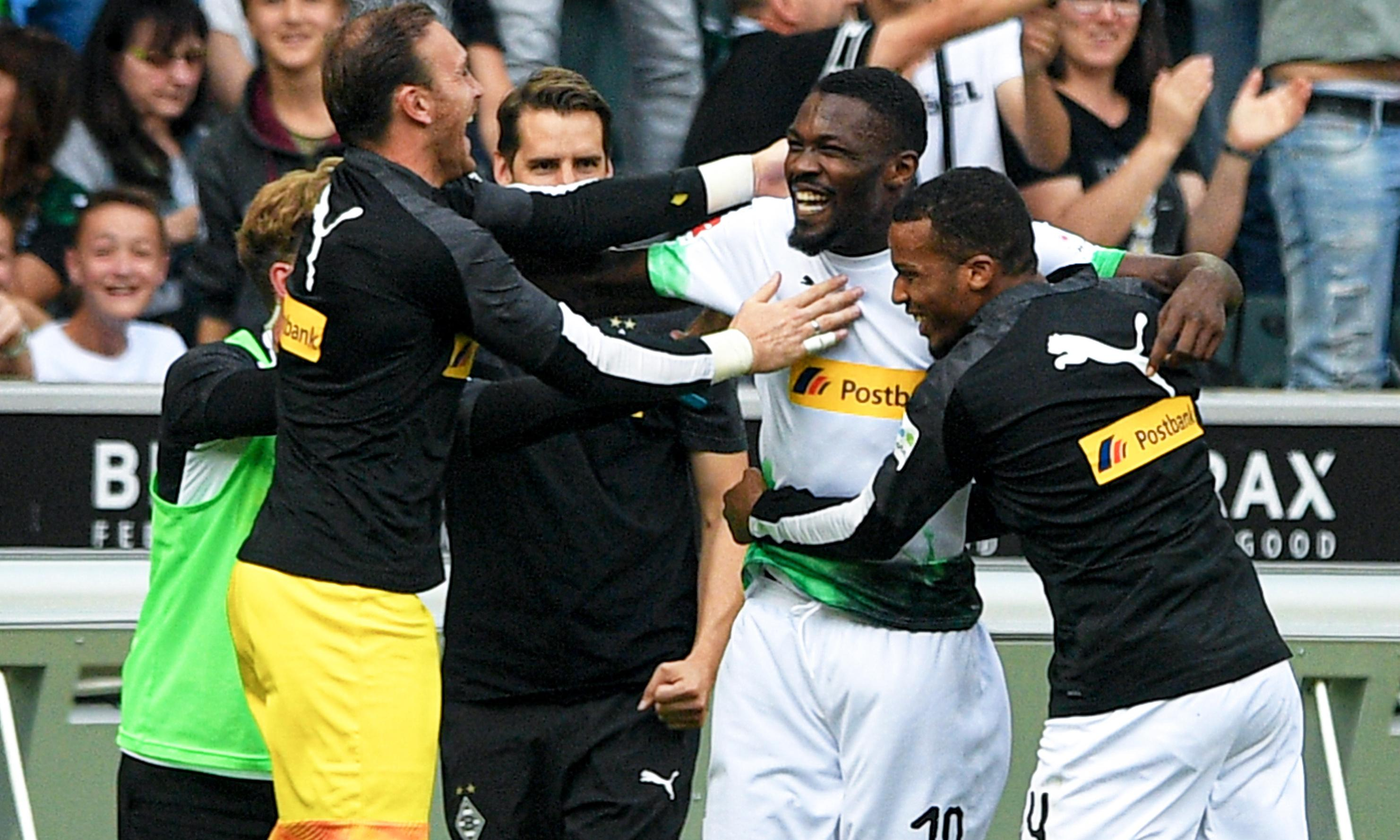 Marcus Thuram's derby double lifts Gladbach from European humiliation