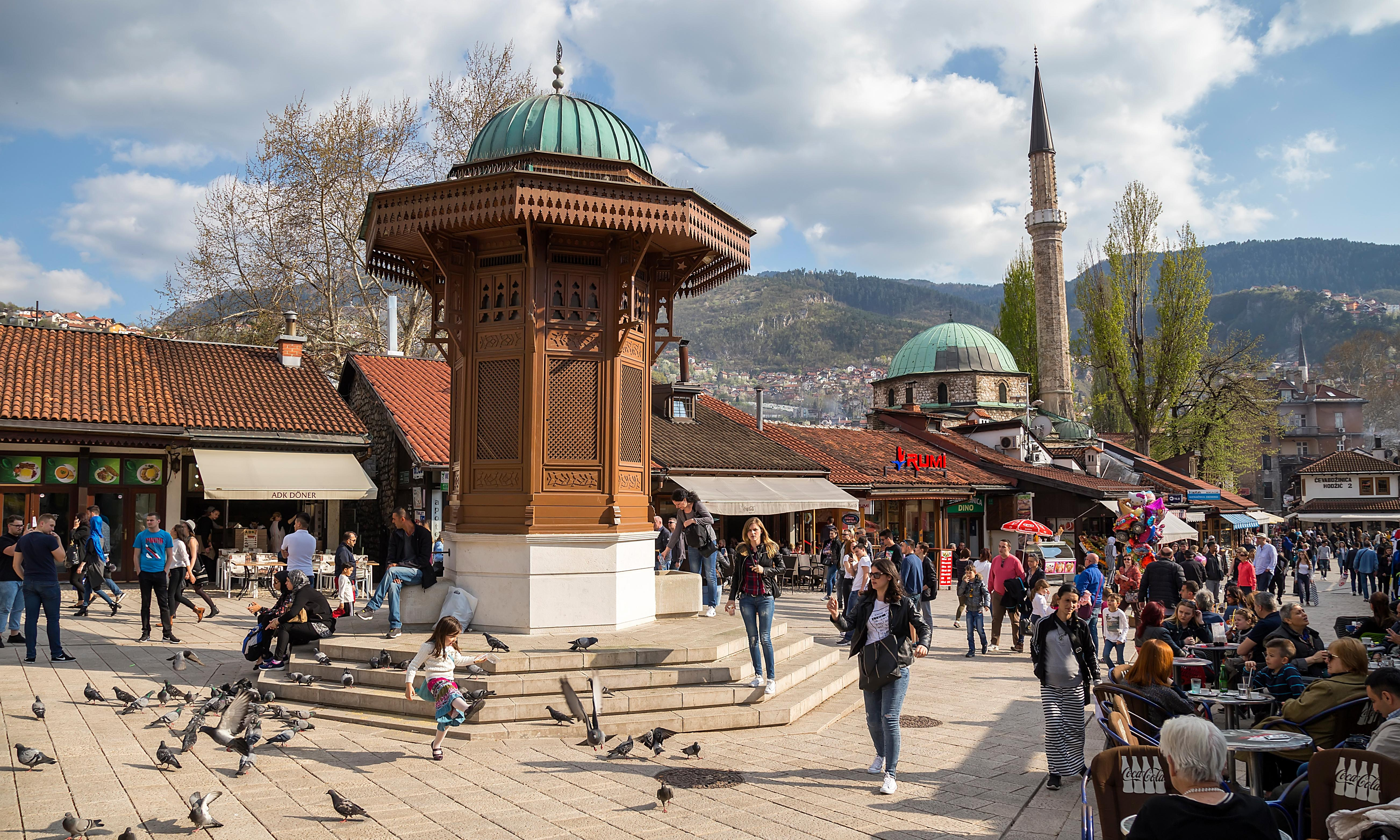 Bosnia is at risk of becoming a failed state. Does the EU want that on its doorstep?