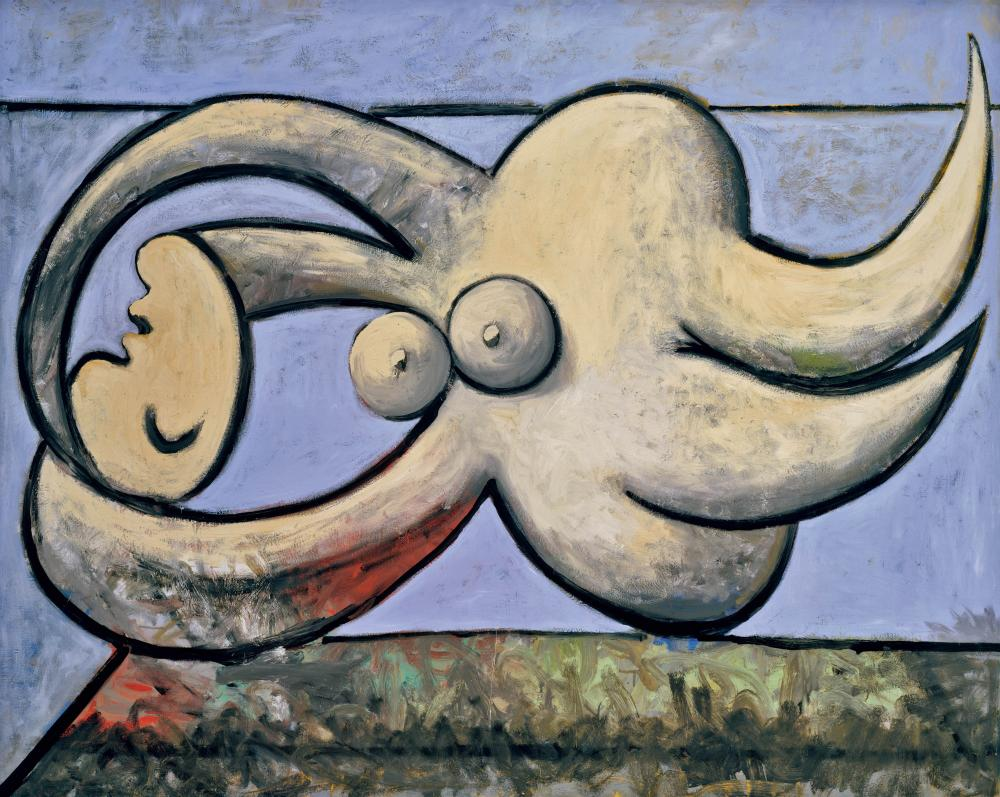 Reclining Nude by Pablo Picasso