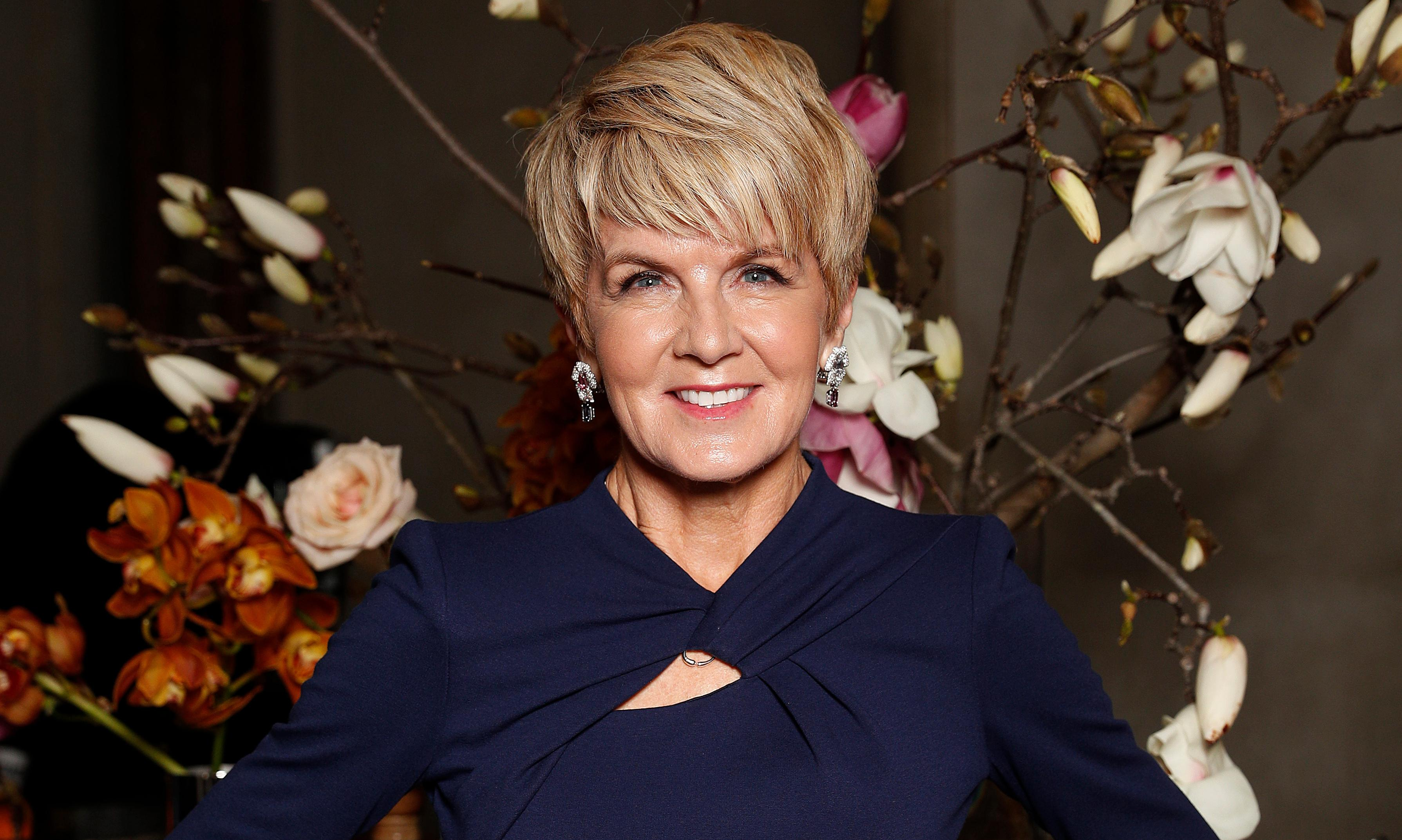 Julie Bishop says onus should be on serving MPs not to meet with retired ministers