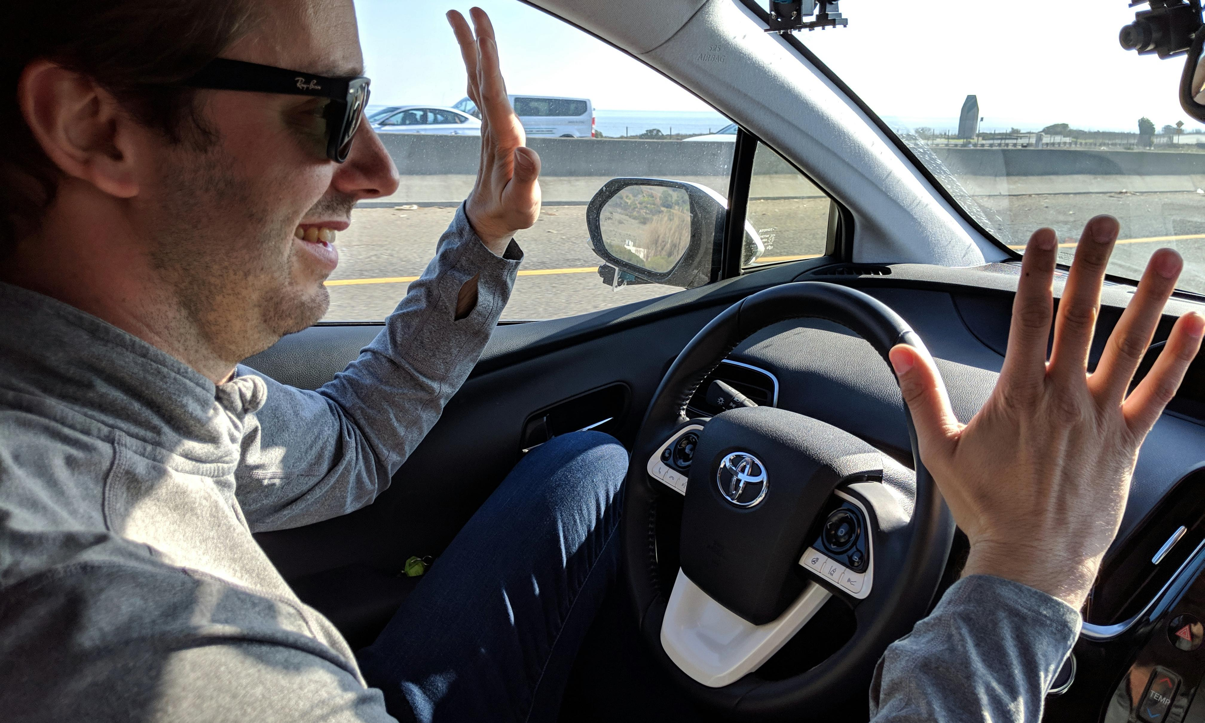Controversial engineer: I travelled over 3,000 miles in a self-driving car