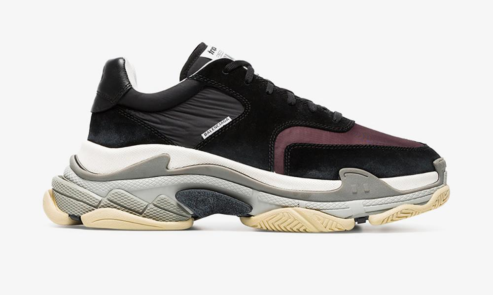 Dare you trial the Balenciaga triple S trainer this summer?