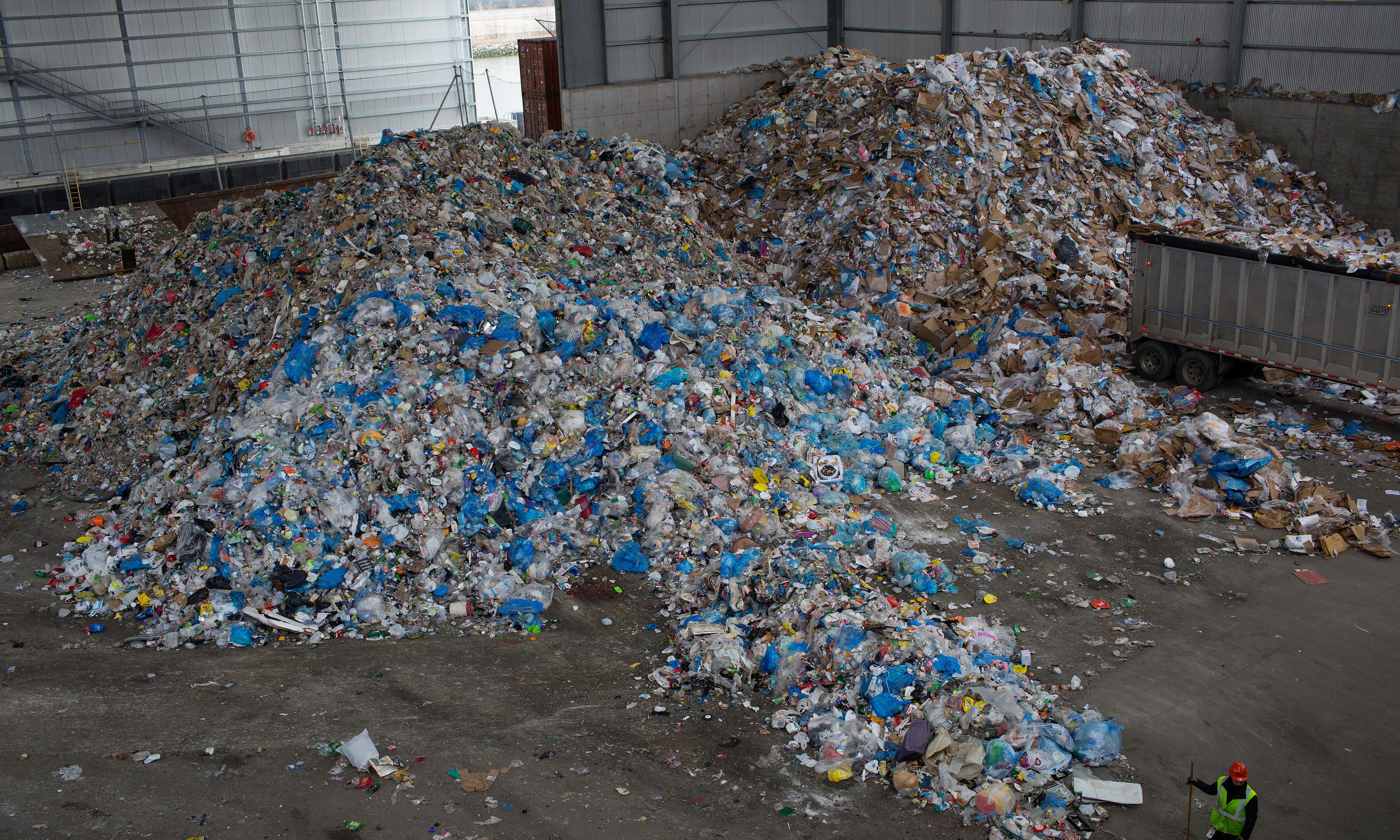 US produces far more waste and recycles far less of it than other developed countries