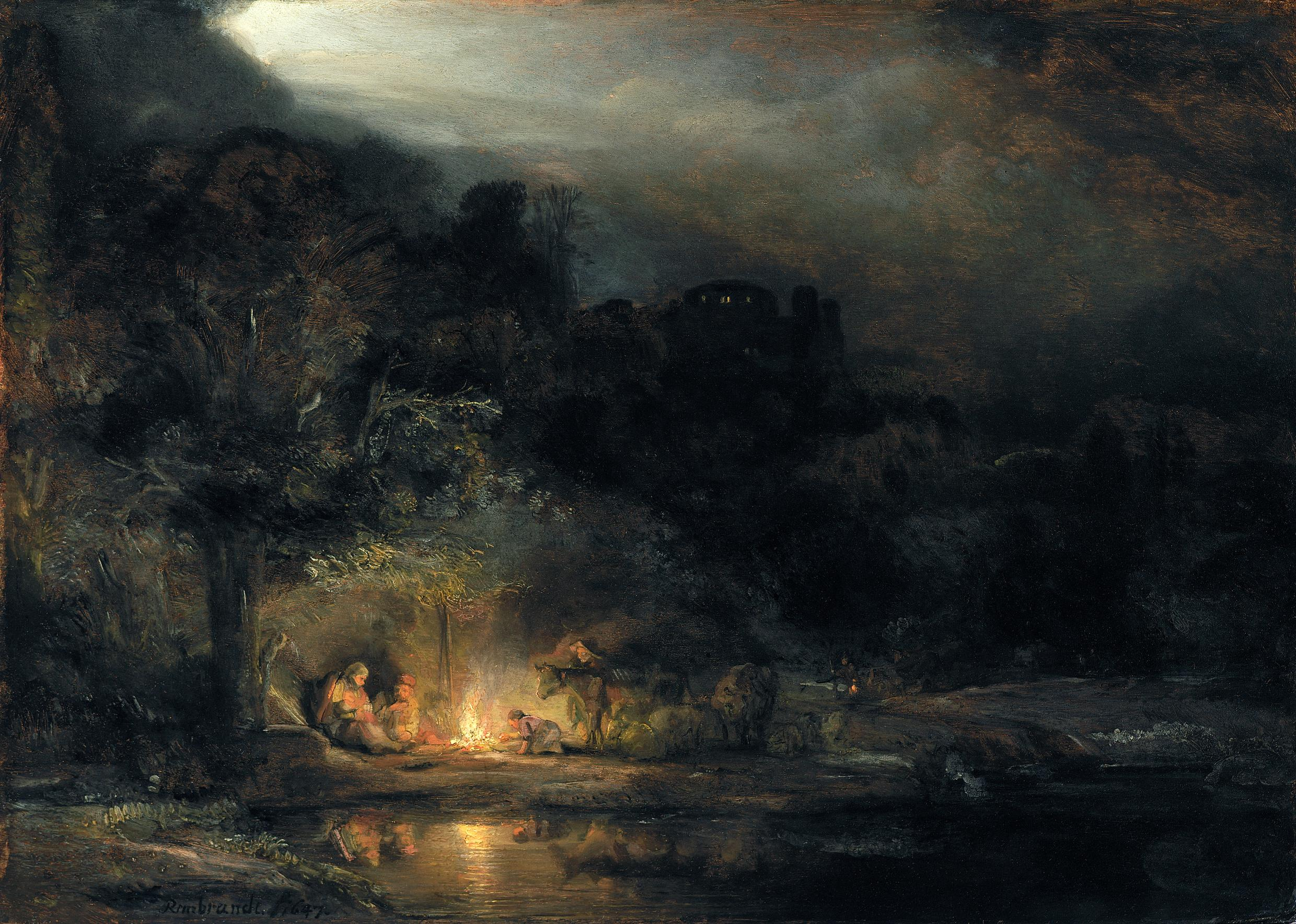 Rembrandt's Light review – glorious art needs no gimmicks