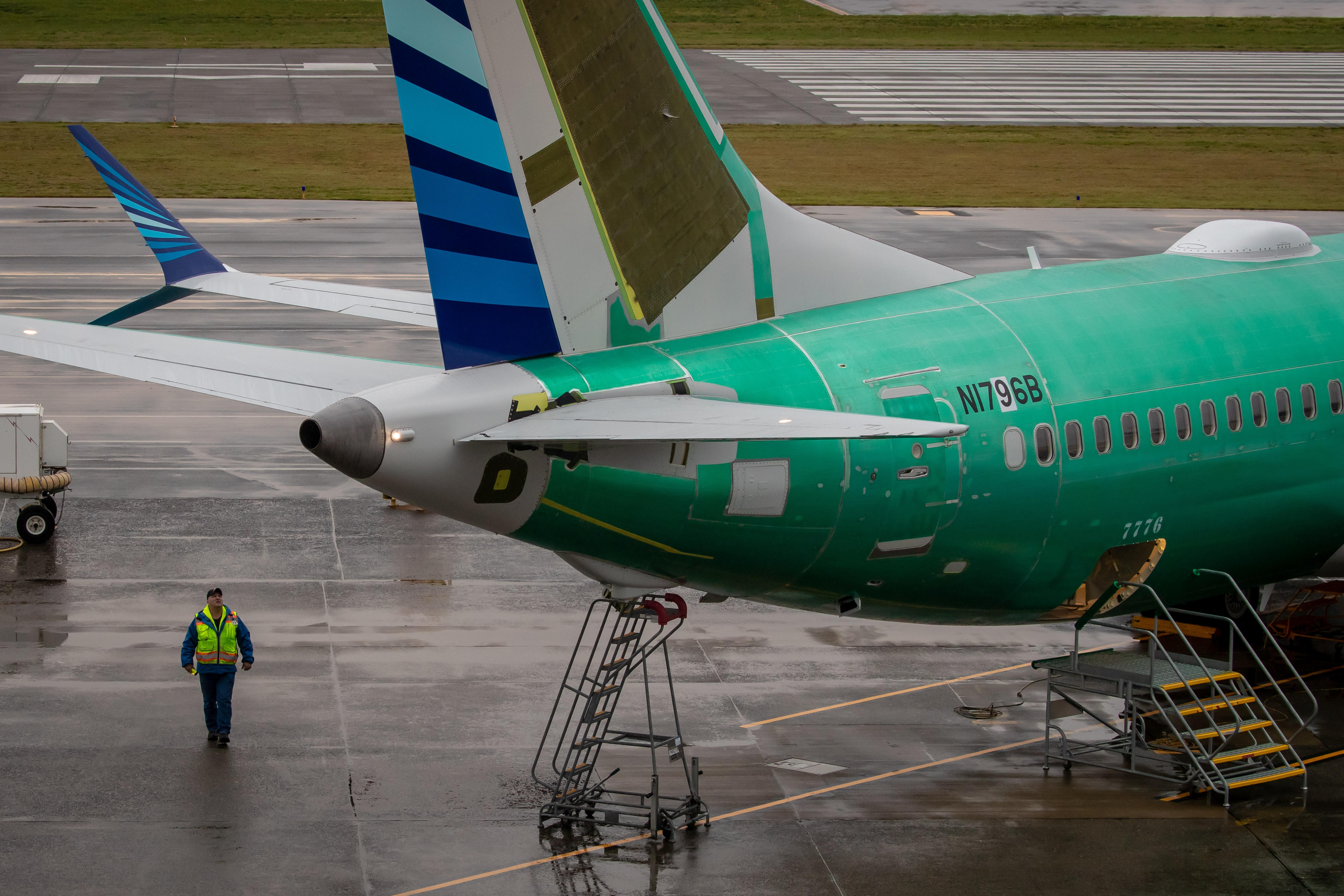 Boeing 737 Max: debris found in fuel tanks of grounded planes