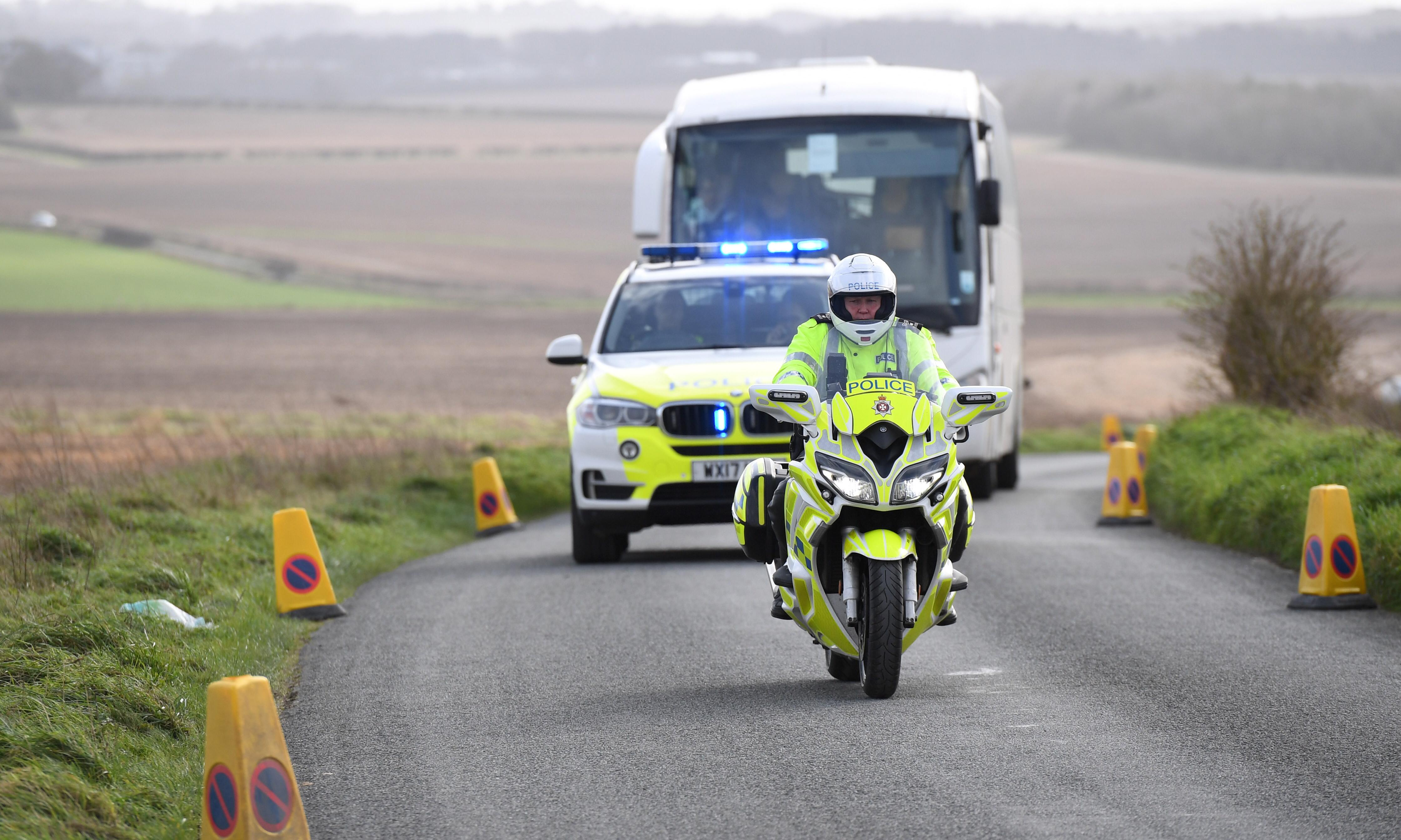 Passengers from coronavirus-hit cruise ship Diamond Princess land in UK