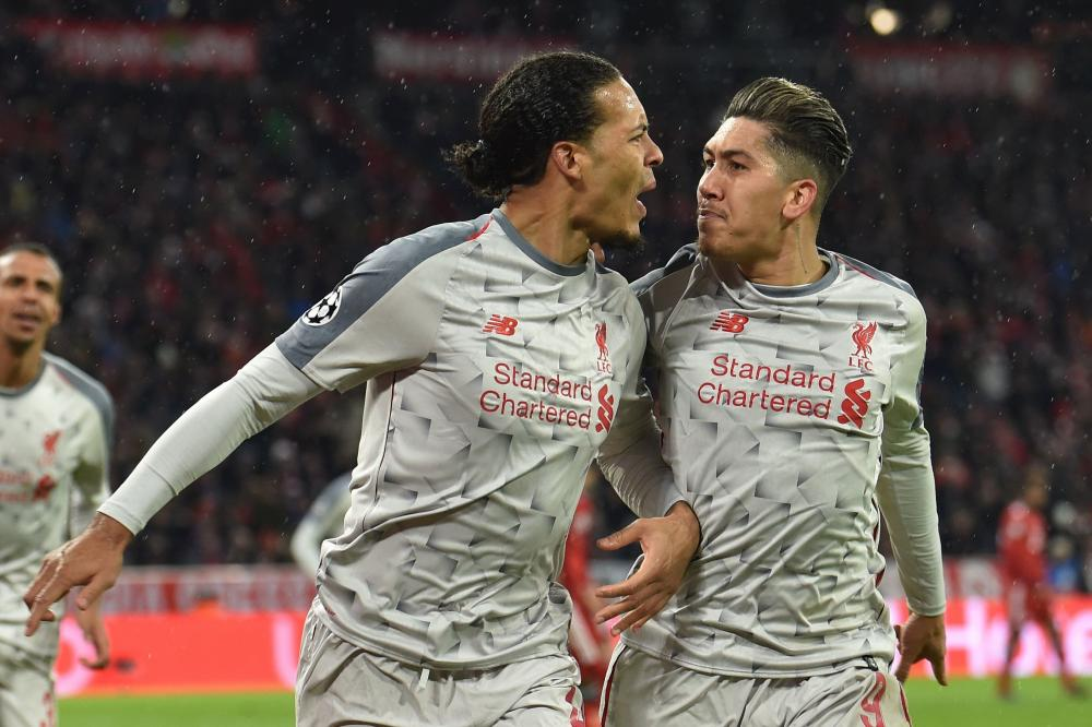 And celebrates with Firmino.