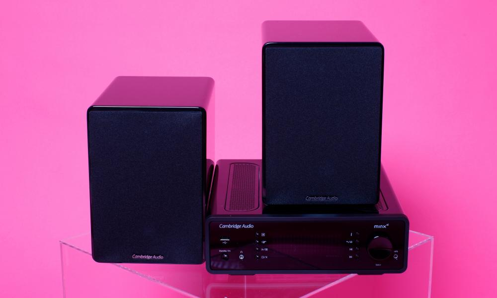 Crisp e dinamico: sistema Minx di Cambridge Audio.