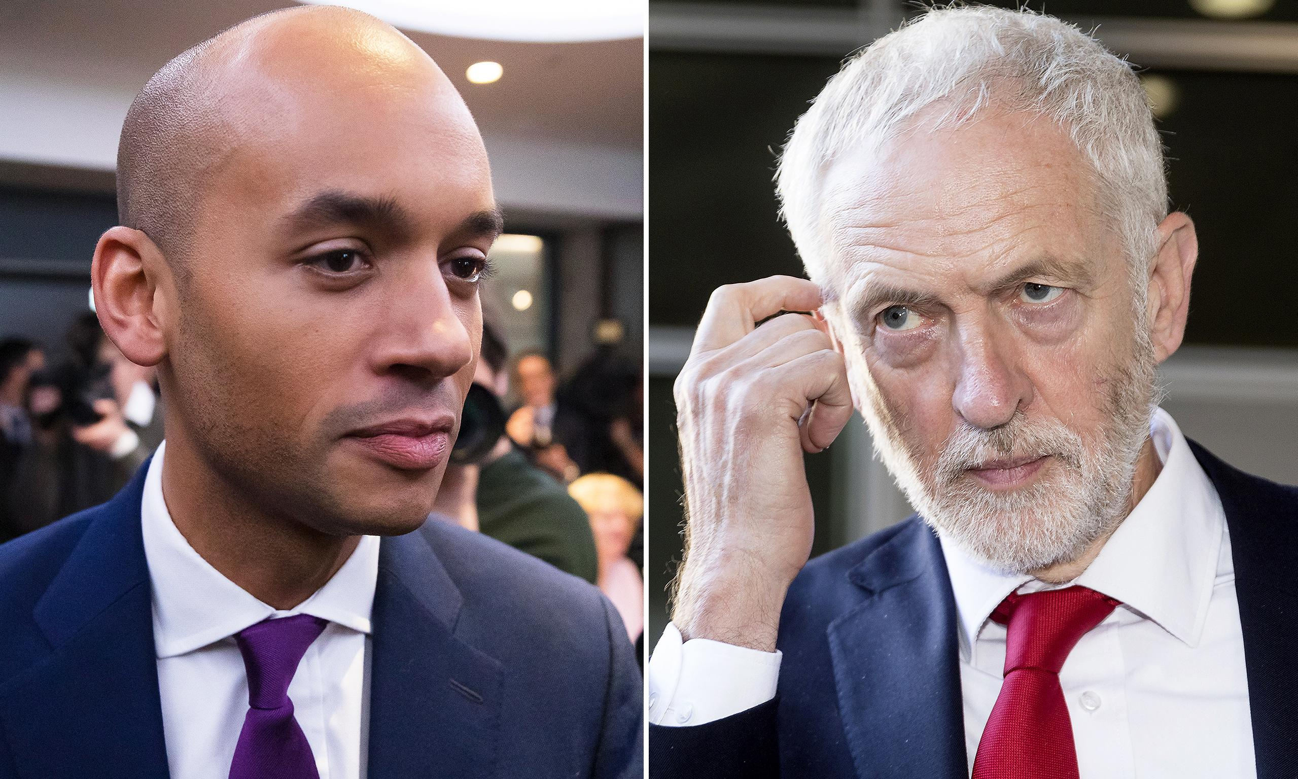 Corbyn walks out of PM's Brexit meeting over Umunna invitation