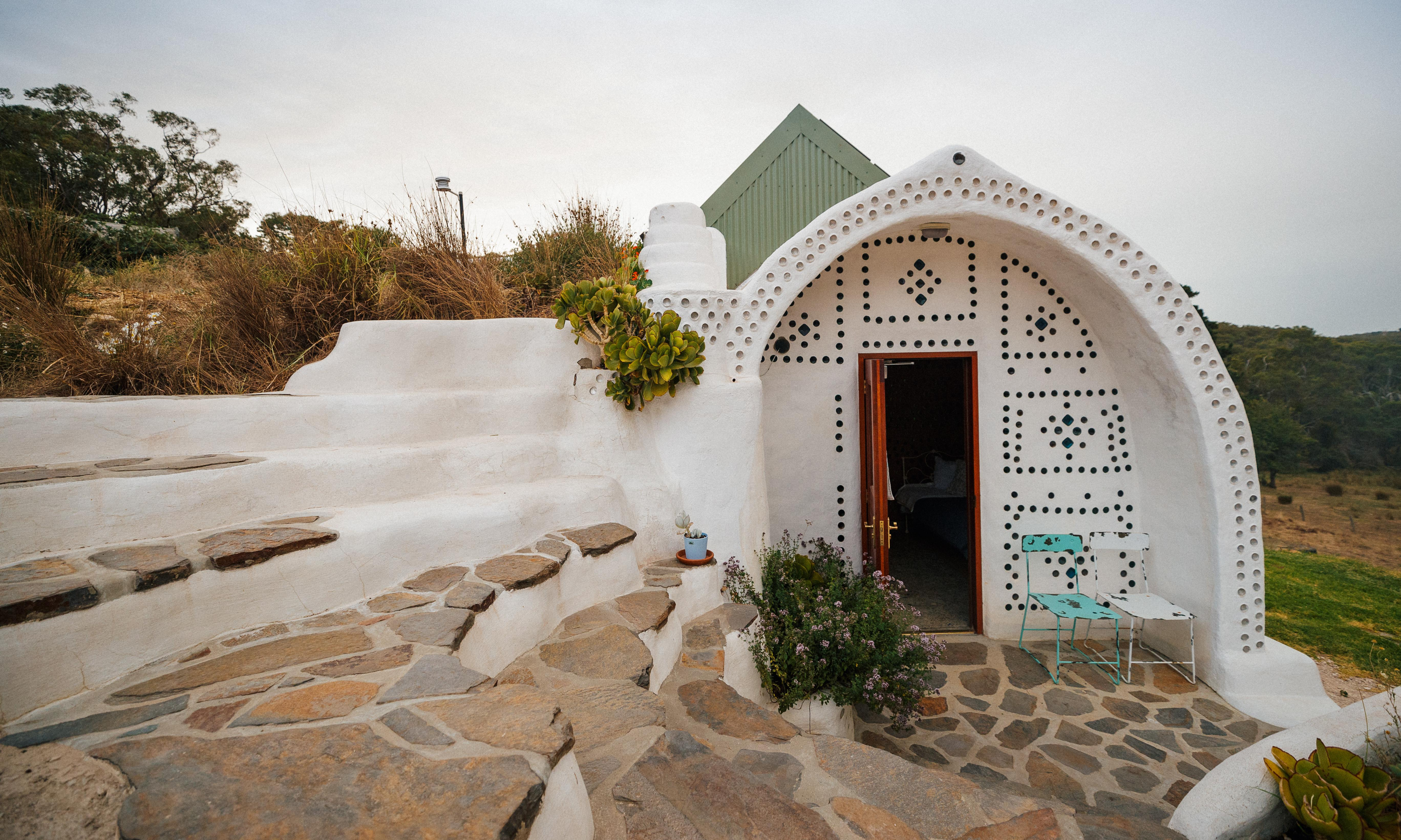 Earthships, hemp and hay: the houses built for off-grid living