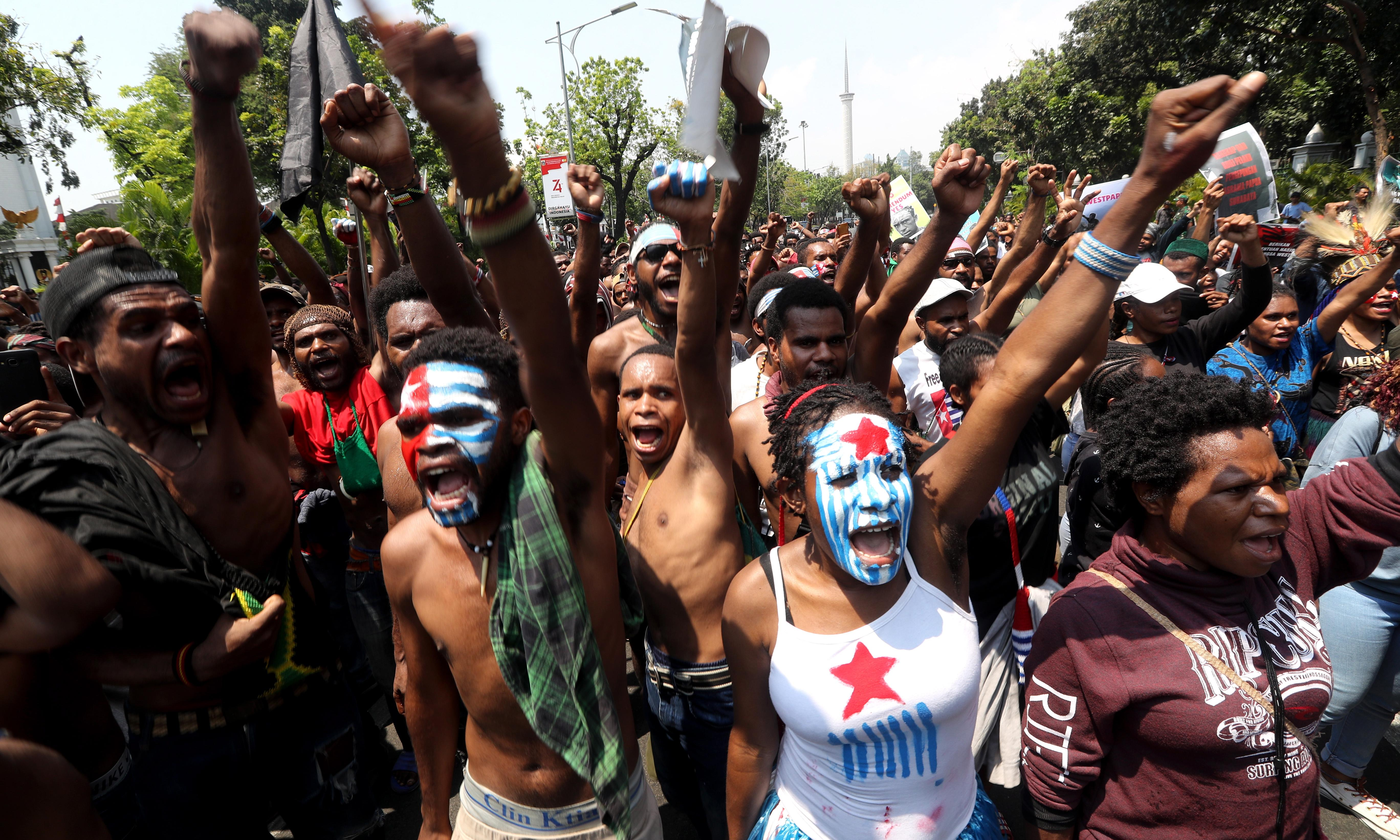 West Papua: thousands expected at fresh protests after week of violence
