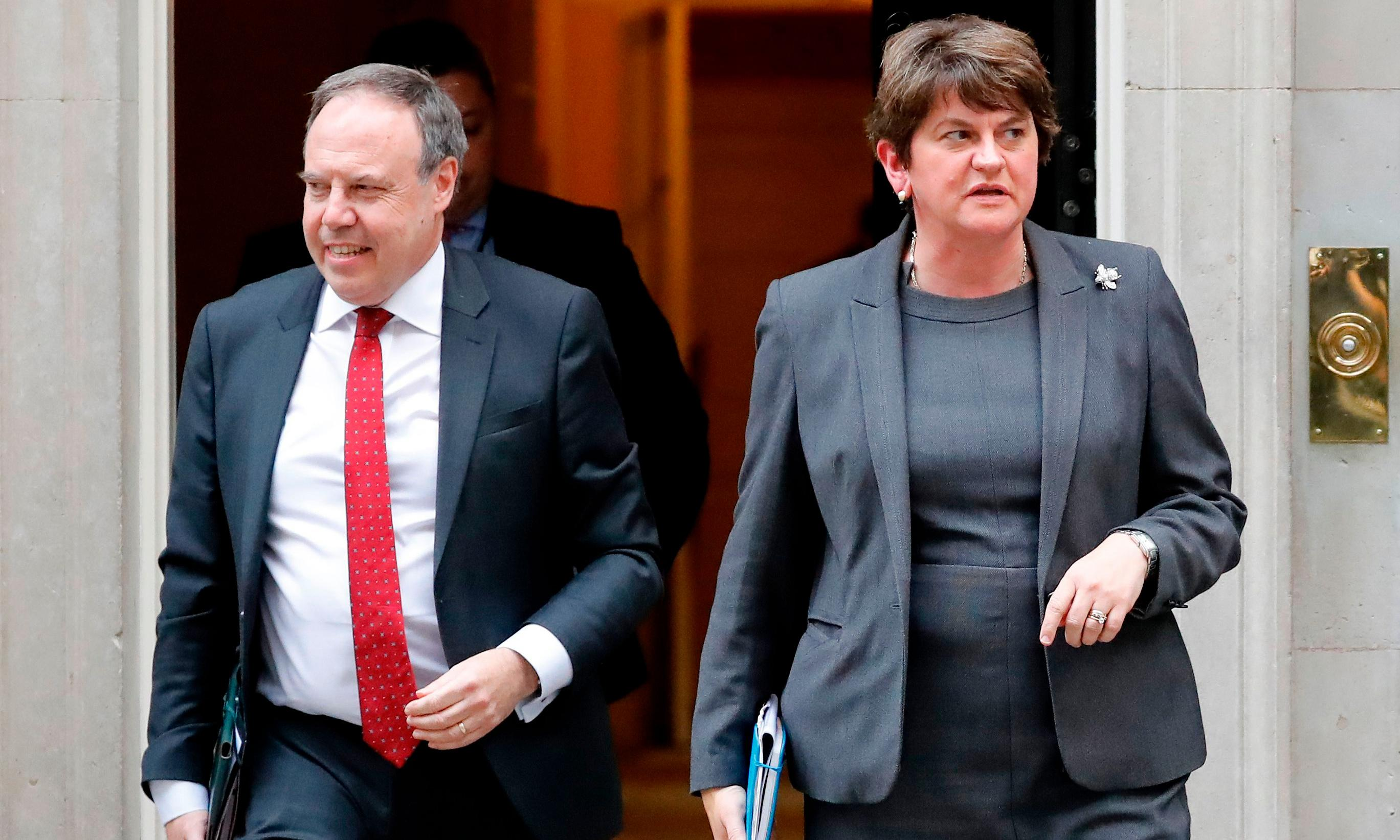 Rival unionists accuse DUP of catastrophic Brexit miscalculation