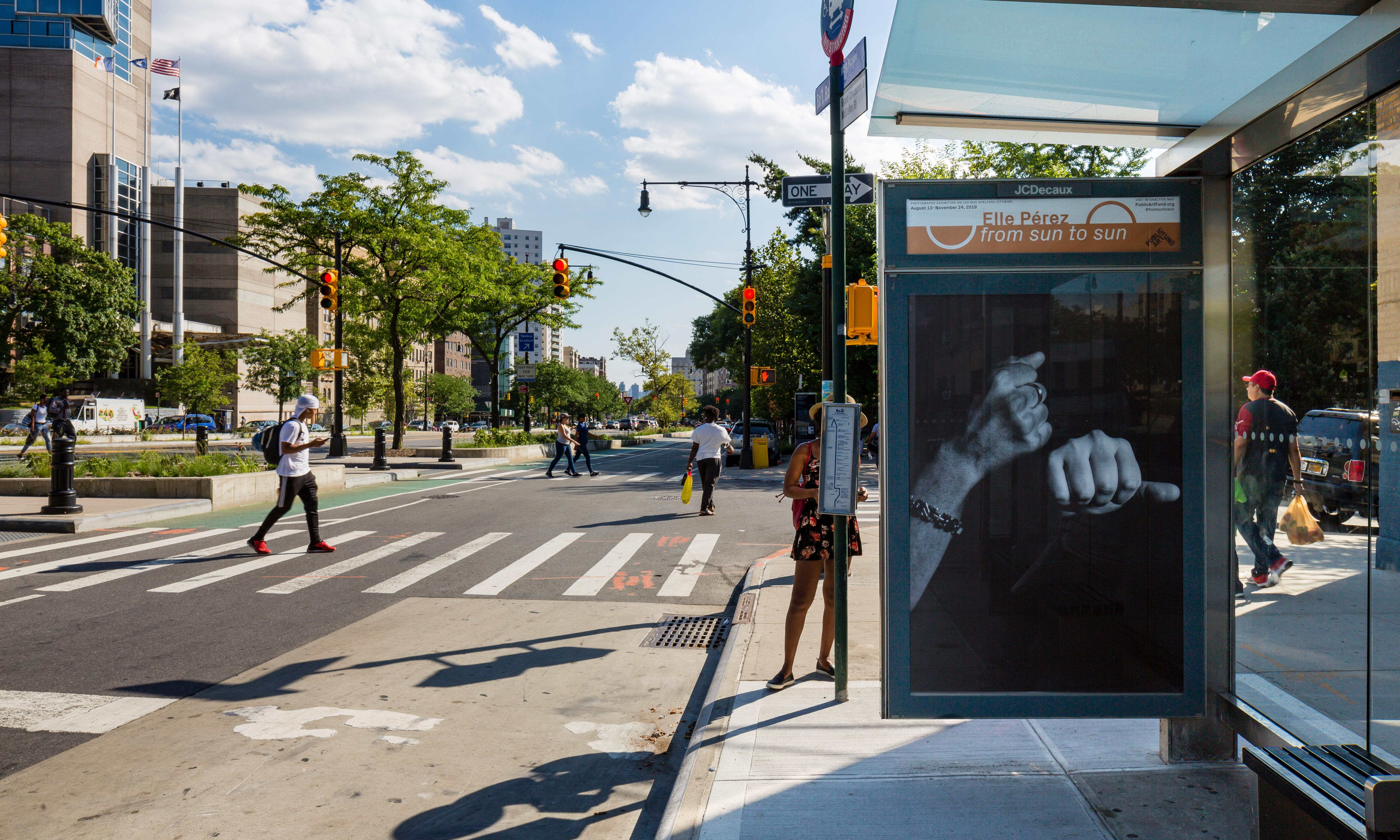 From Sun to Sun: the photo series livening up New York City bus shelters