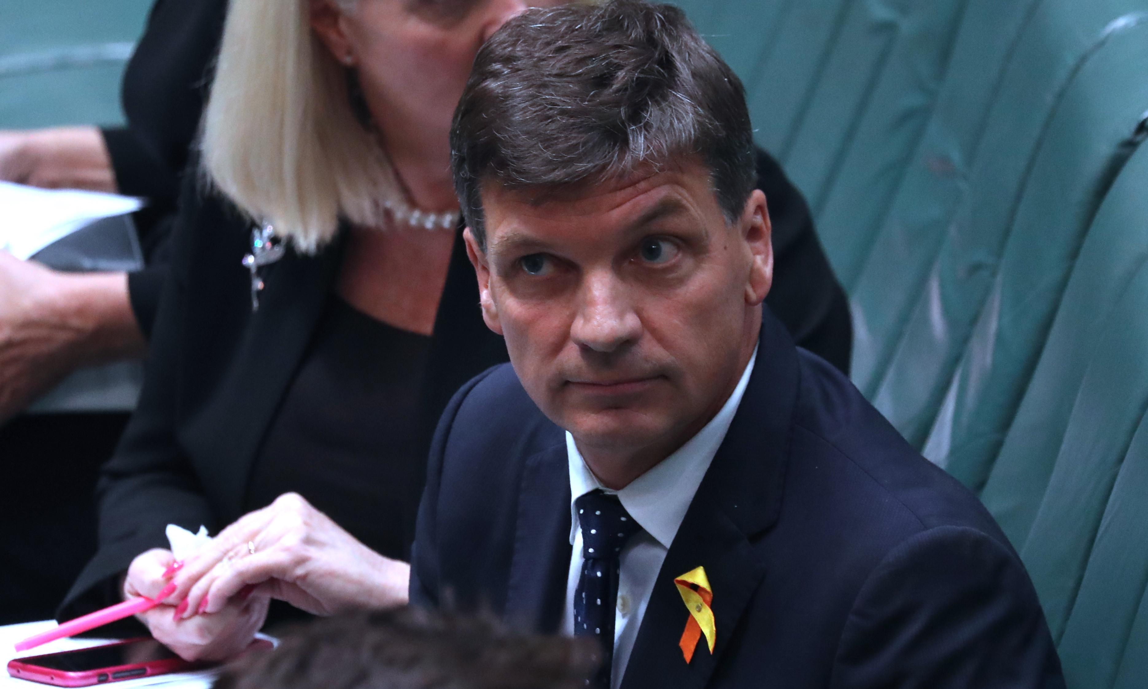 Environment officials sensitive about Angus Taylor grasslands meeting, emails show