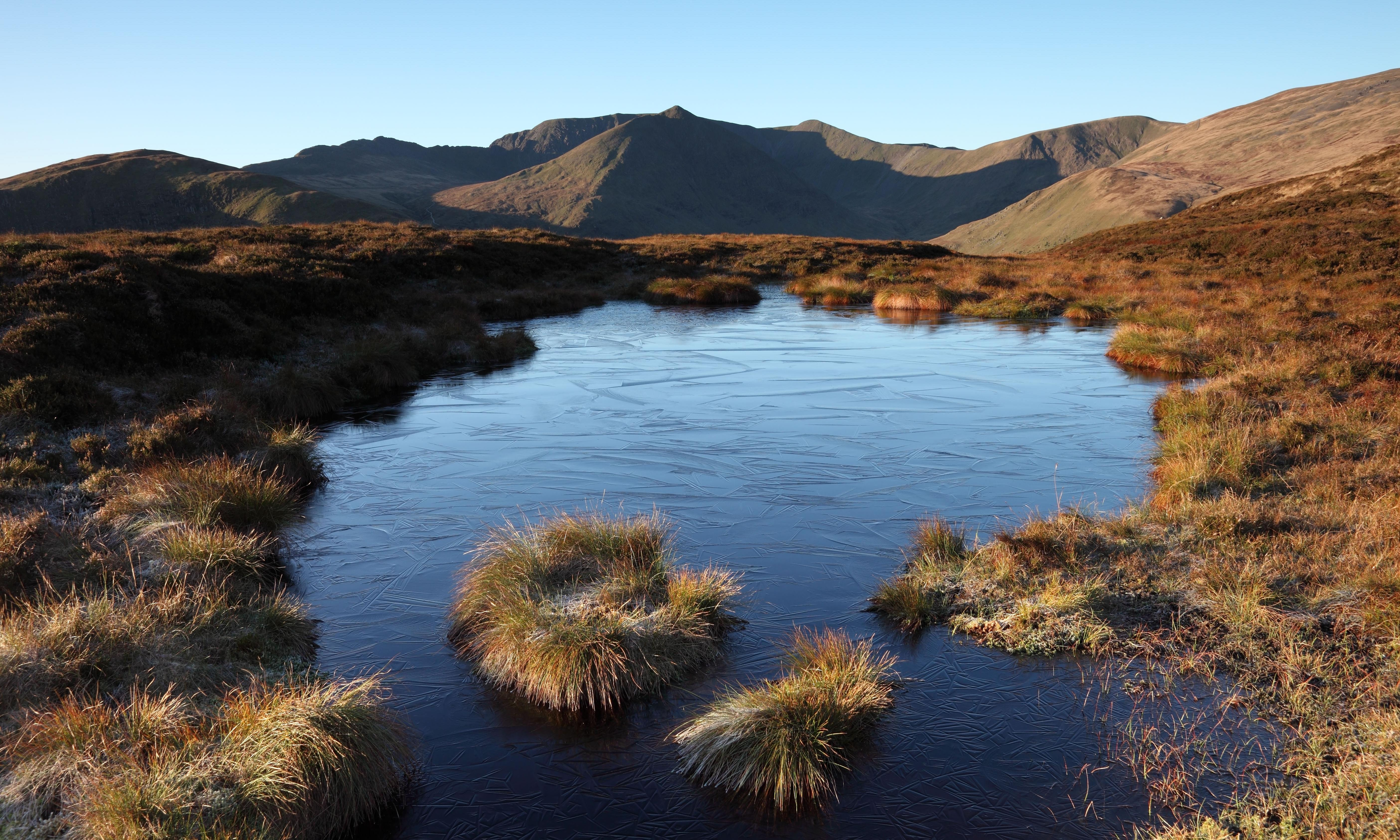 From high fell tarn to a lake skimmed with oil: Country diary, 2 February 1970
