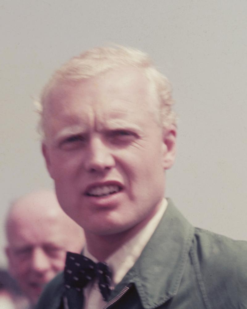 Mike Hawthorn, the racing driver.