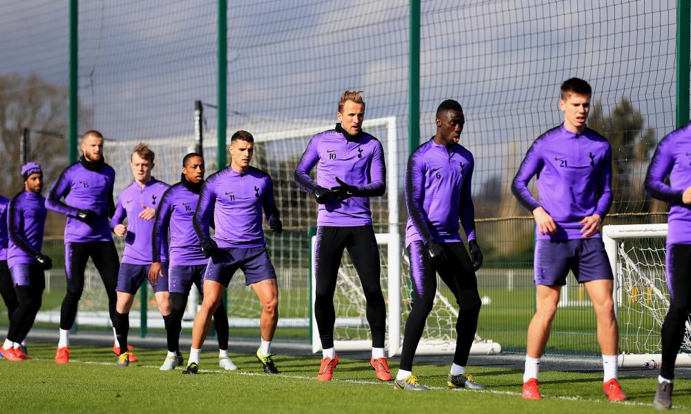Harry Kane resumed Tottenham training on Wednesday.