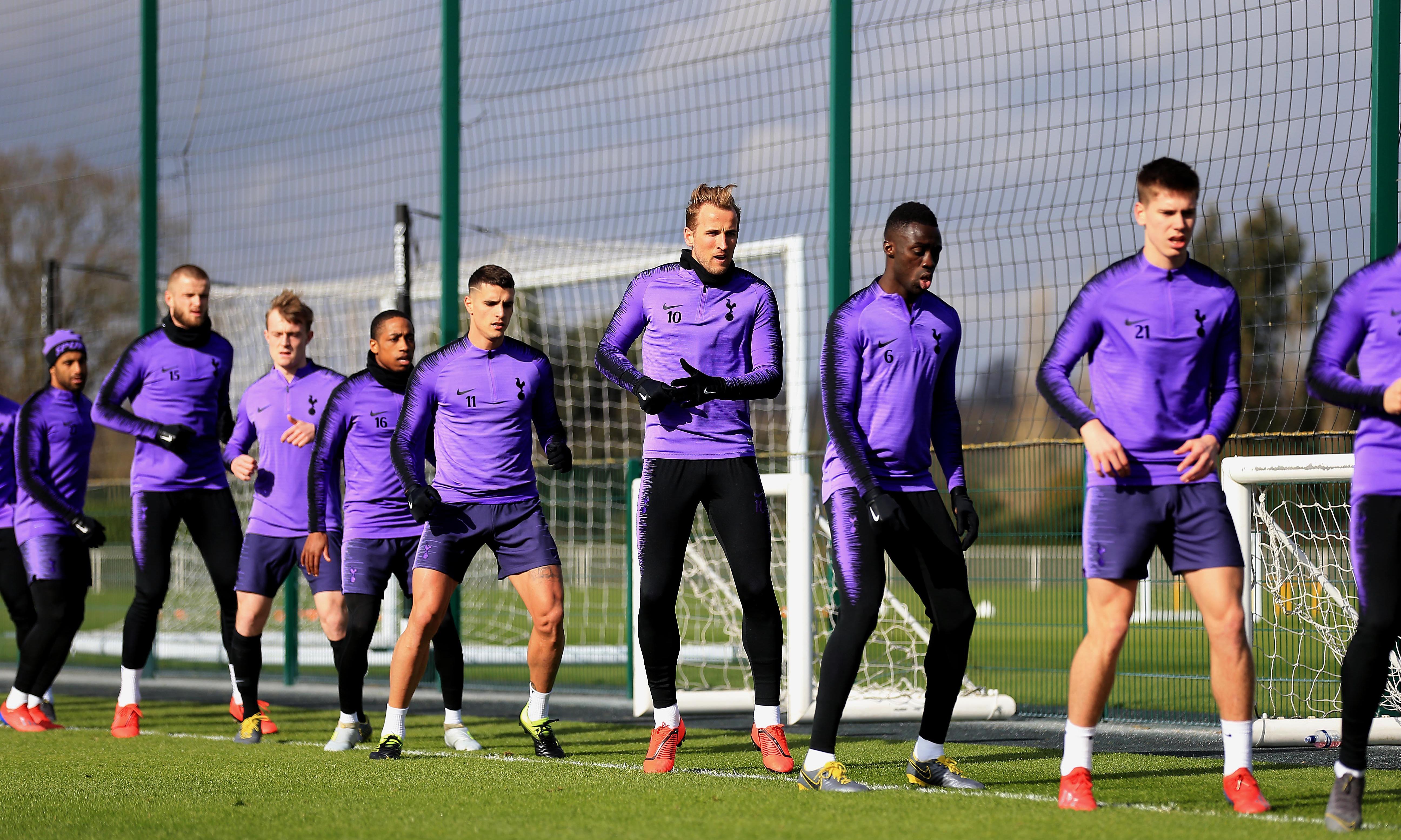 Harry Kane returns to Tottenham training prior to Burnley trip
