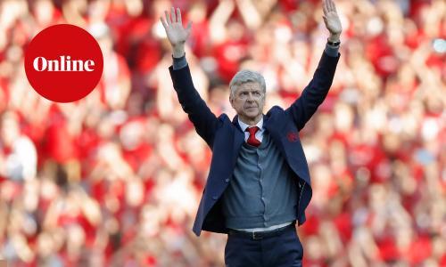 Former Arsenal football manager, Arsene Wenger