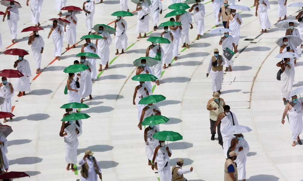 The hajj, one of the five pillars of Islam and a must for able-bodied Muslims at least once in their lifetime, is usually one of the world's largest religious gatherings.