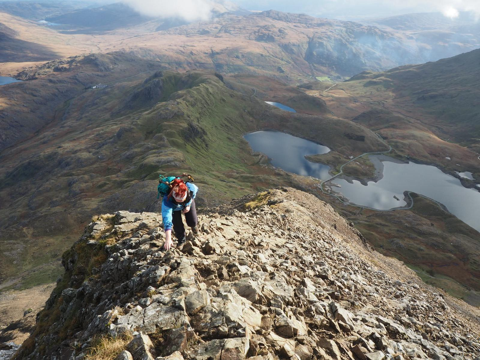 Country diary: British hills hint at alpine levels of drama
