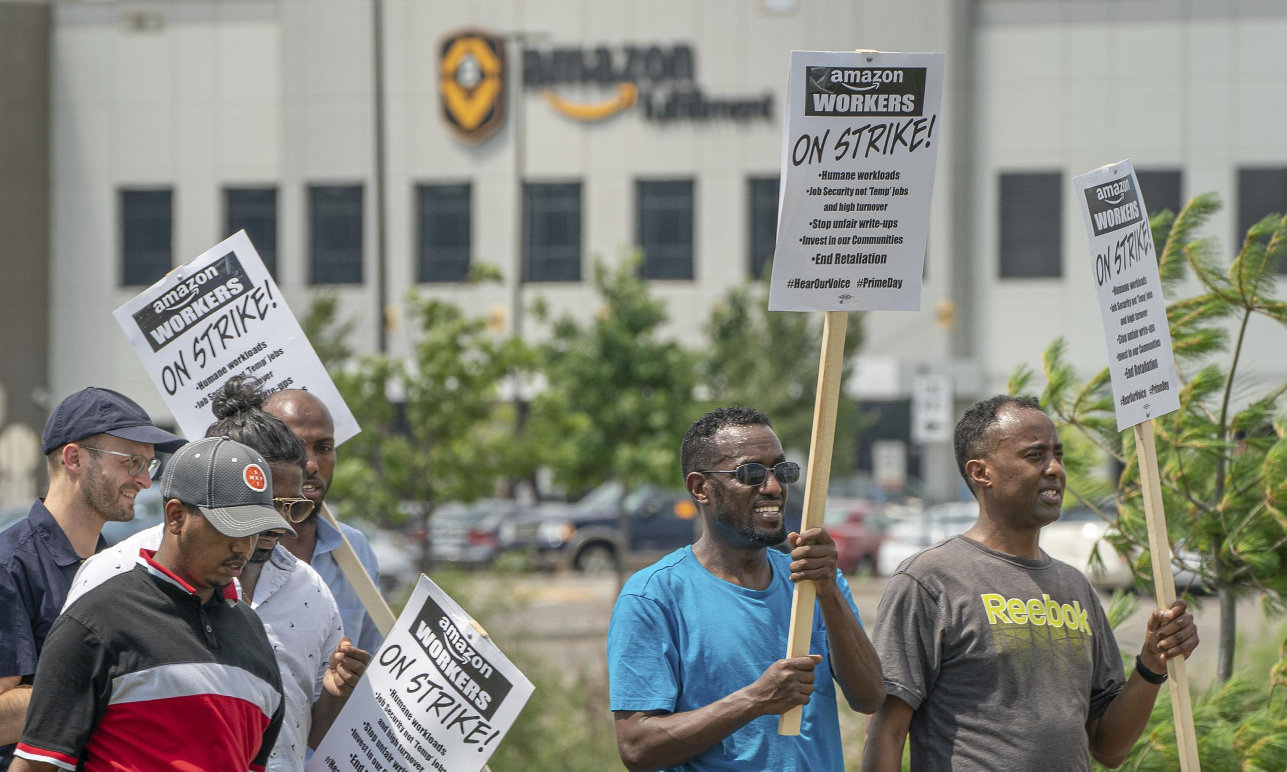 Amazon employees in Minneapolis are fighting for better conditions. And it's working