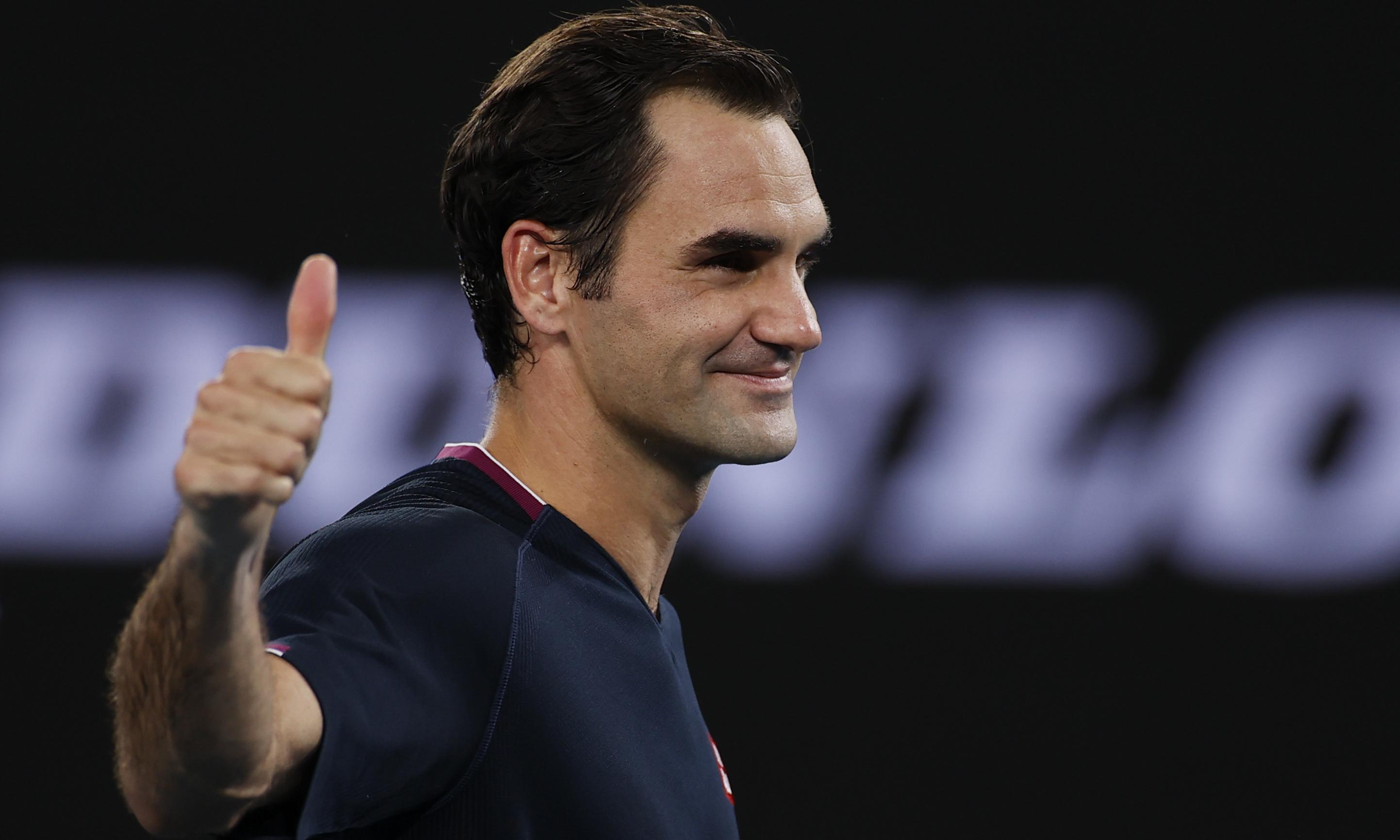 Roger Federer and Novak Djokovic ease into third round of Australian Open