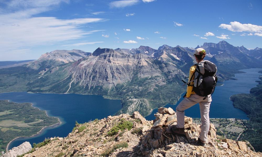 Kết quả hình ảnh cho Three-day hike, Alberta