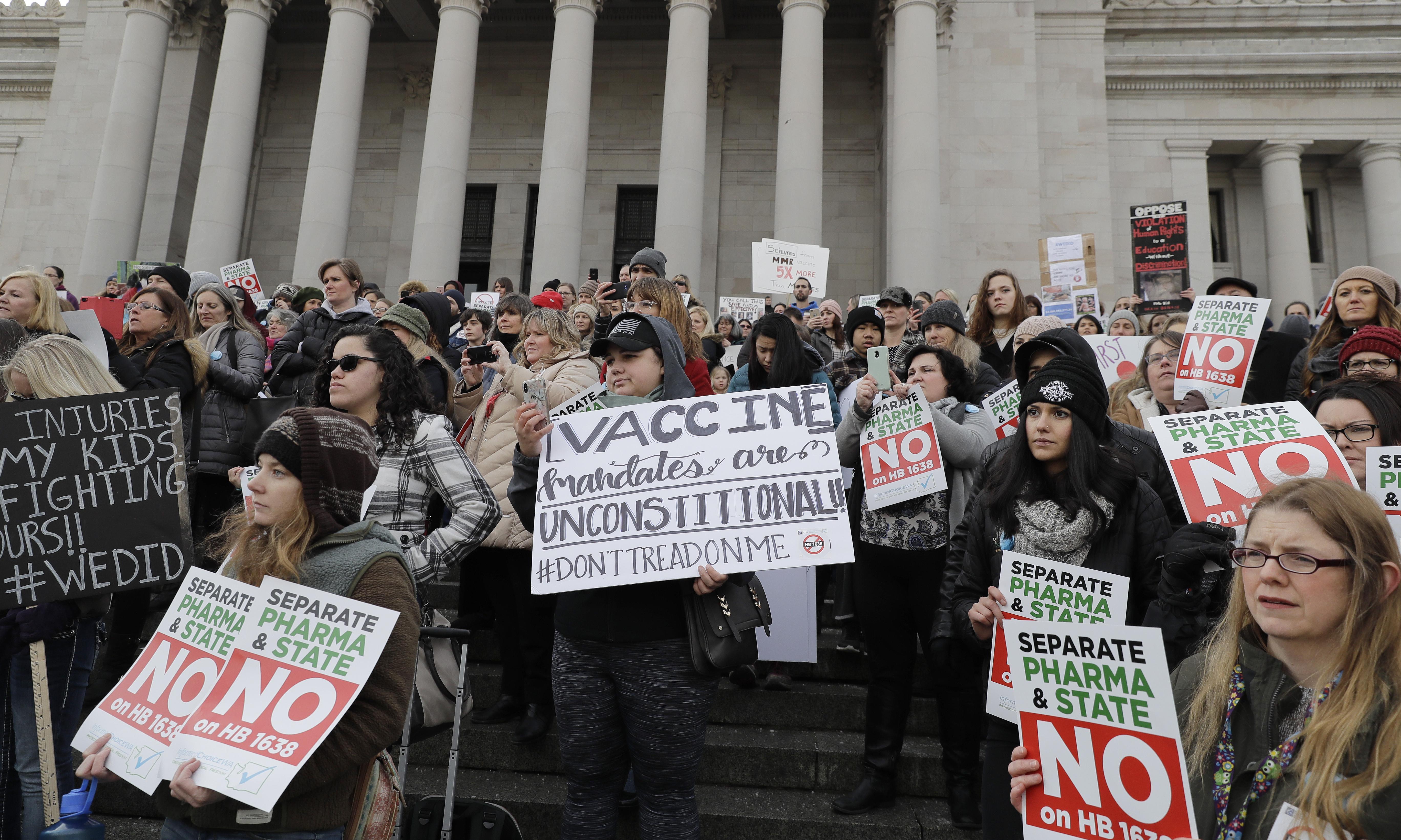 Facebook under pressure to halt rise of anti-vaccination groups