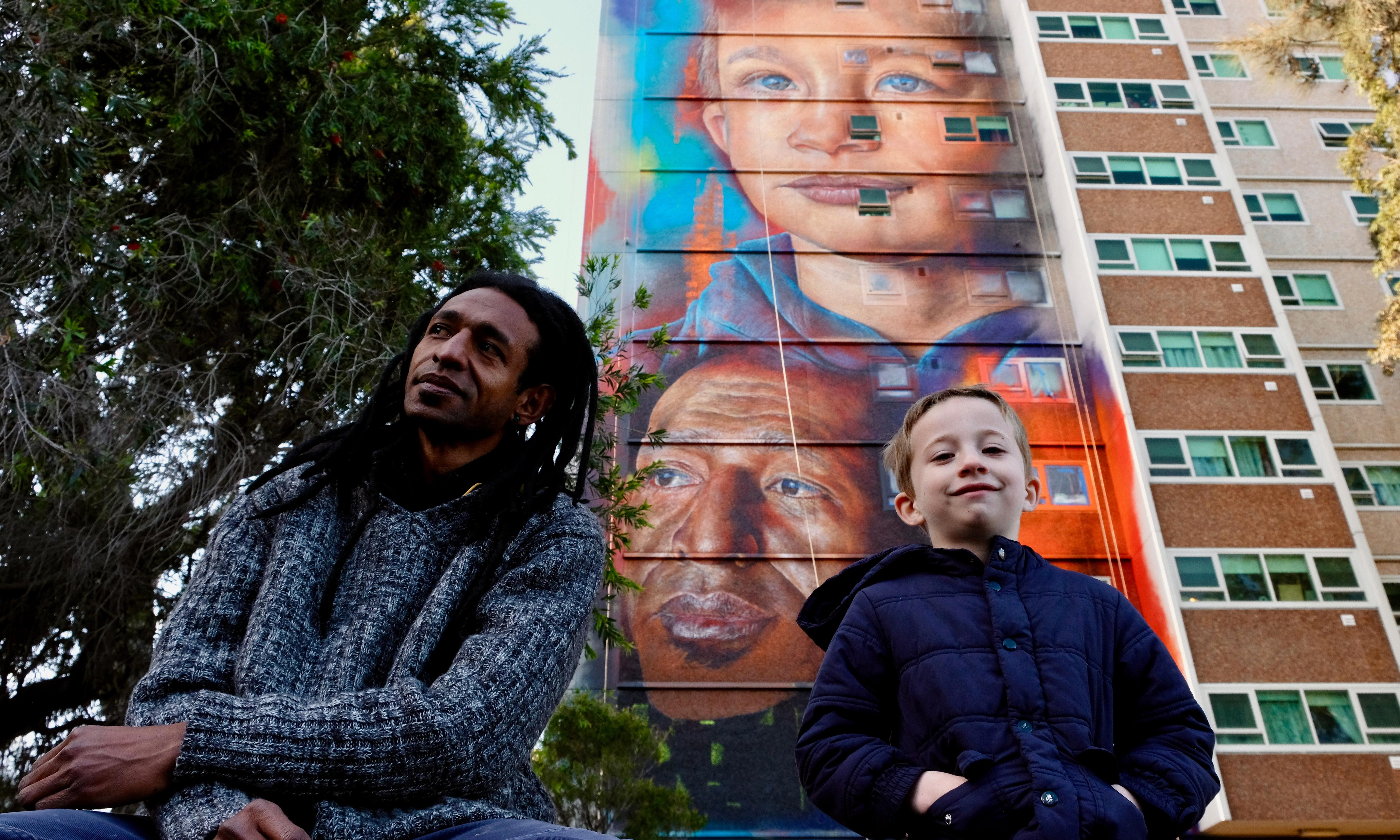Tallest mural in the southern hemisphere unveiled in Melbourne