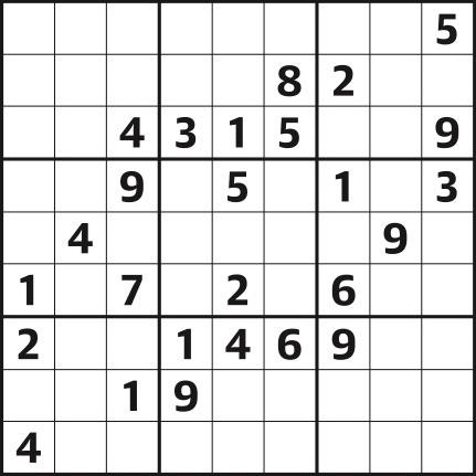 Sudoku 4,303 hard