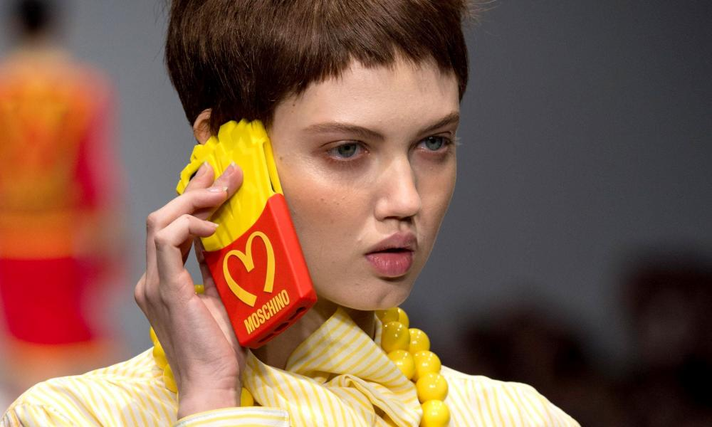 Chips with everything … the Moschino fries case.