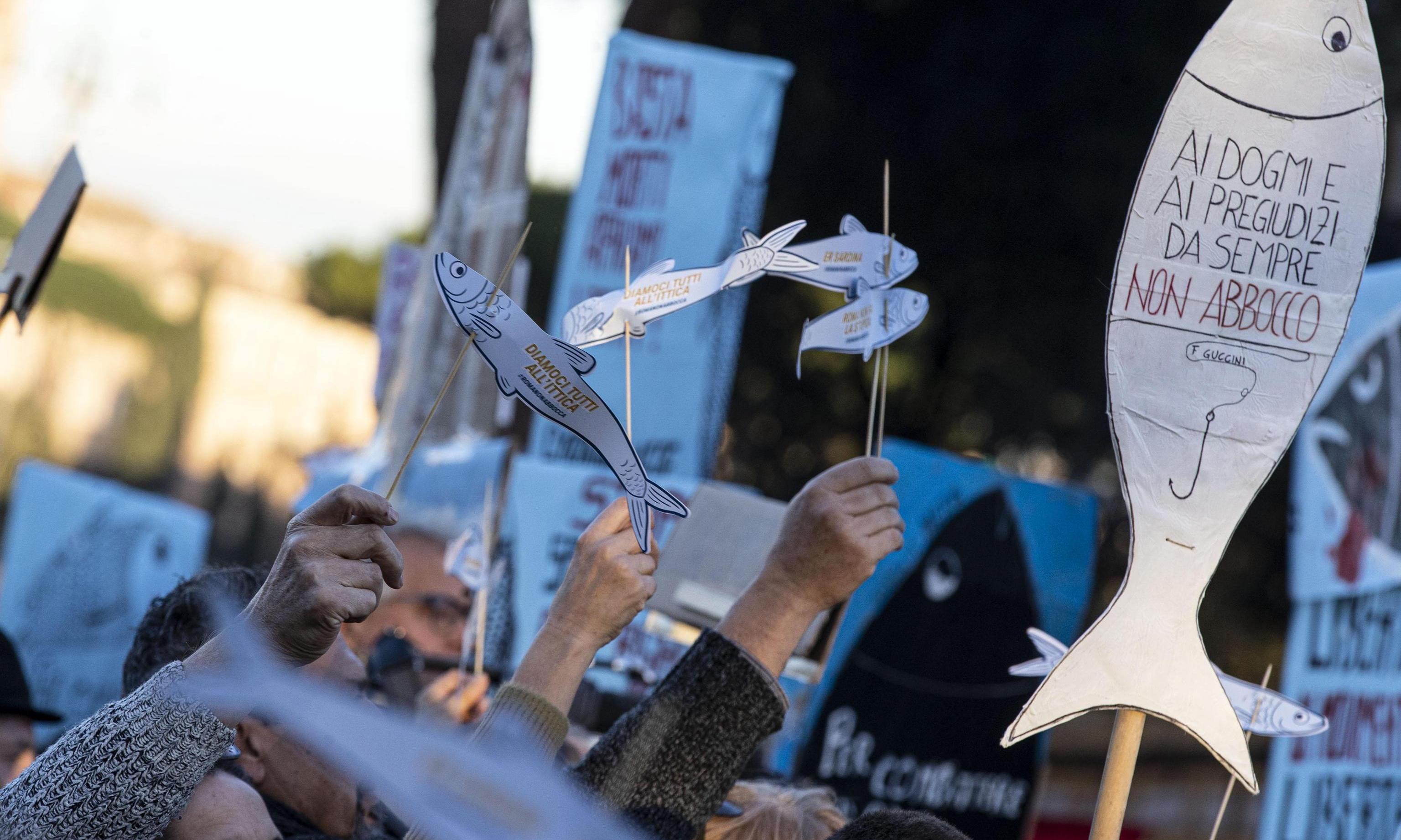 'Sardines' against Salvini: Italy's fight against the far right