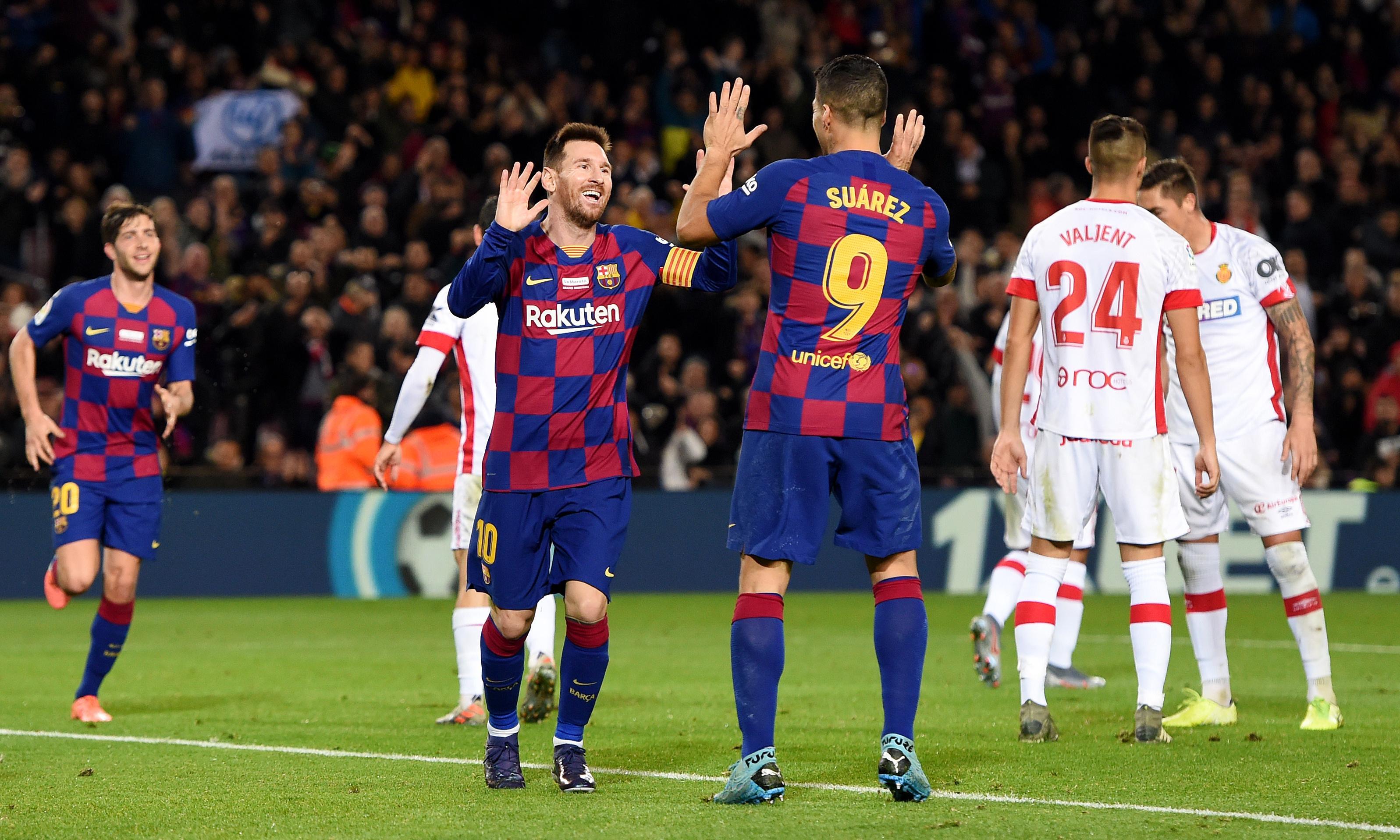La Liga roundup: Messi masterclass puts Barcelona back on top after Madrid win