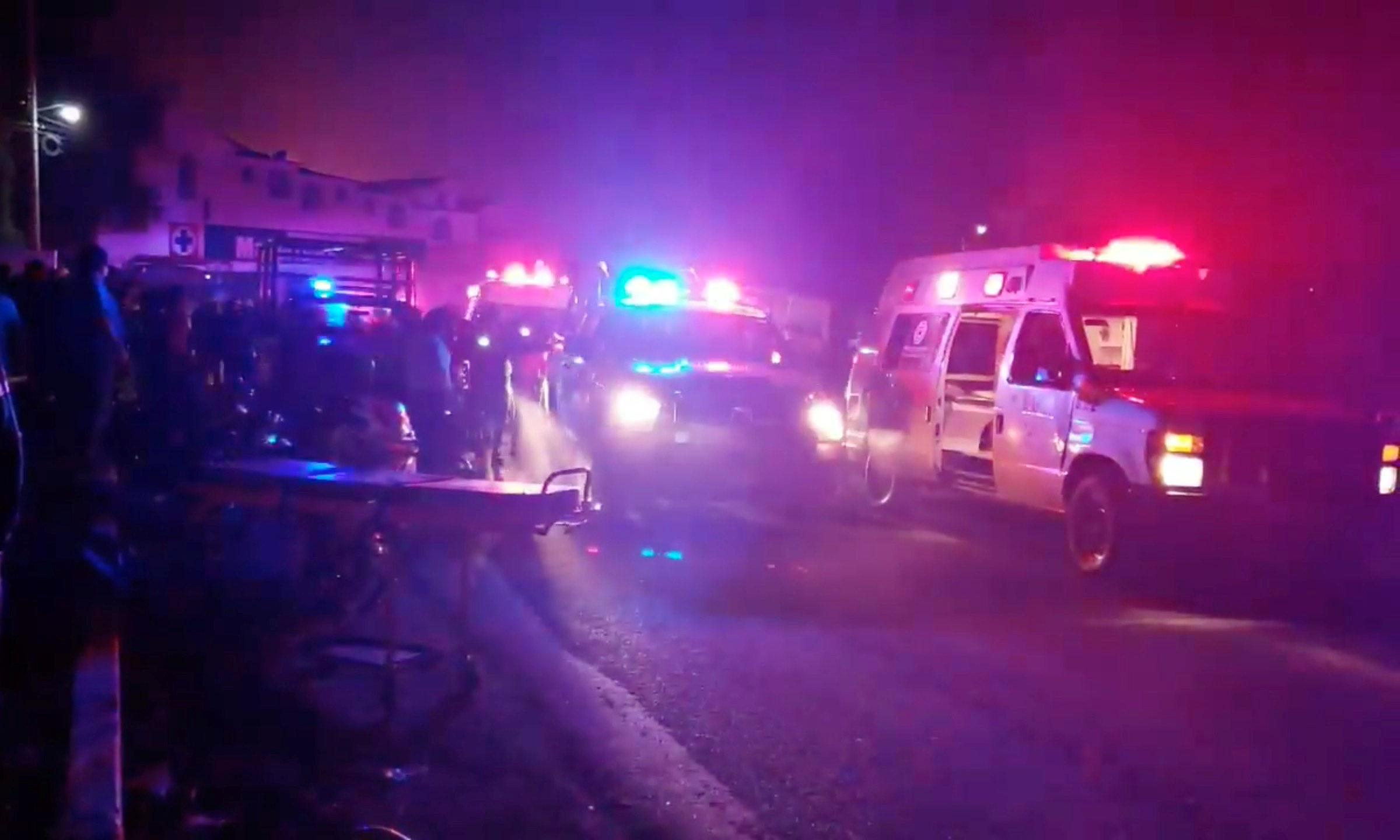 Mexico explosion: scores dead after burst pipeline ignites