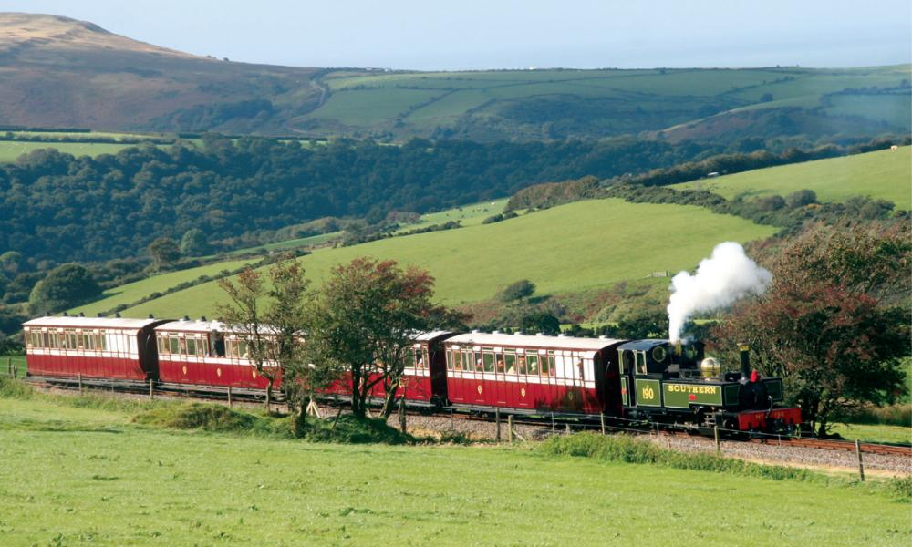 Lynton and Barnstaple Railway, Exmoor National Park,