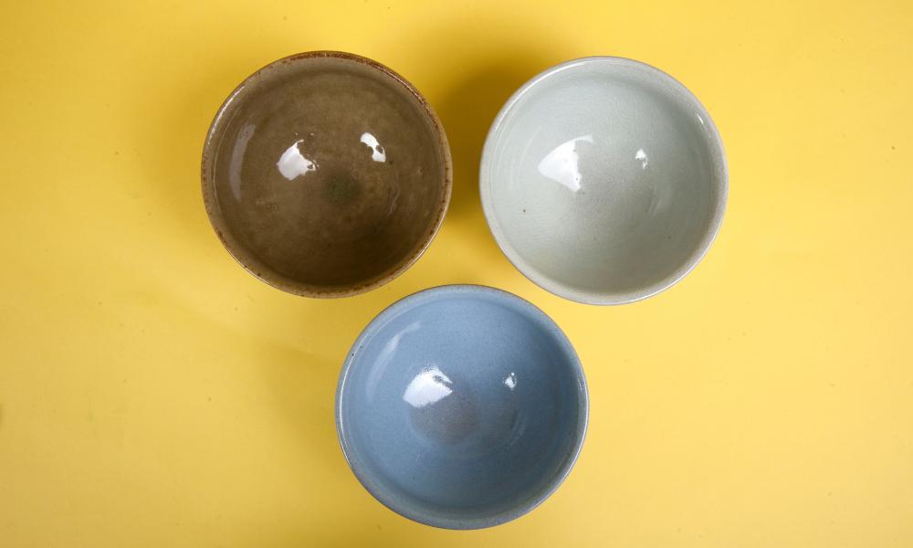 Asahiyaki tea bowl