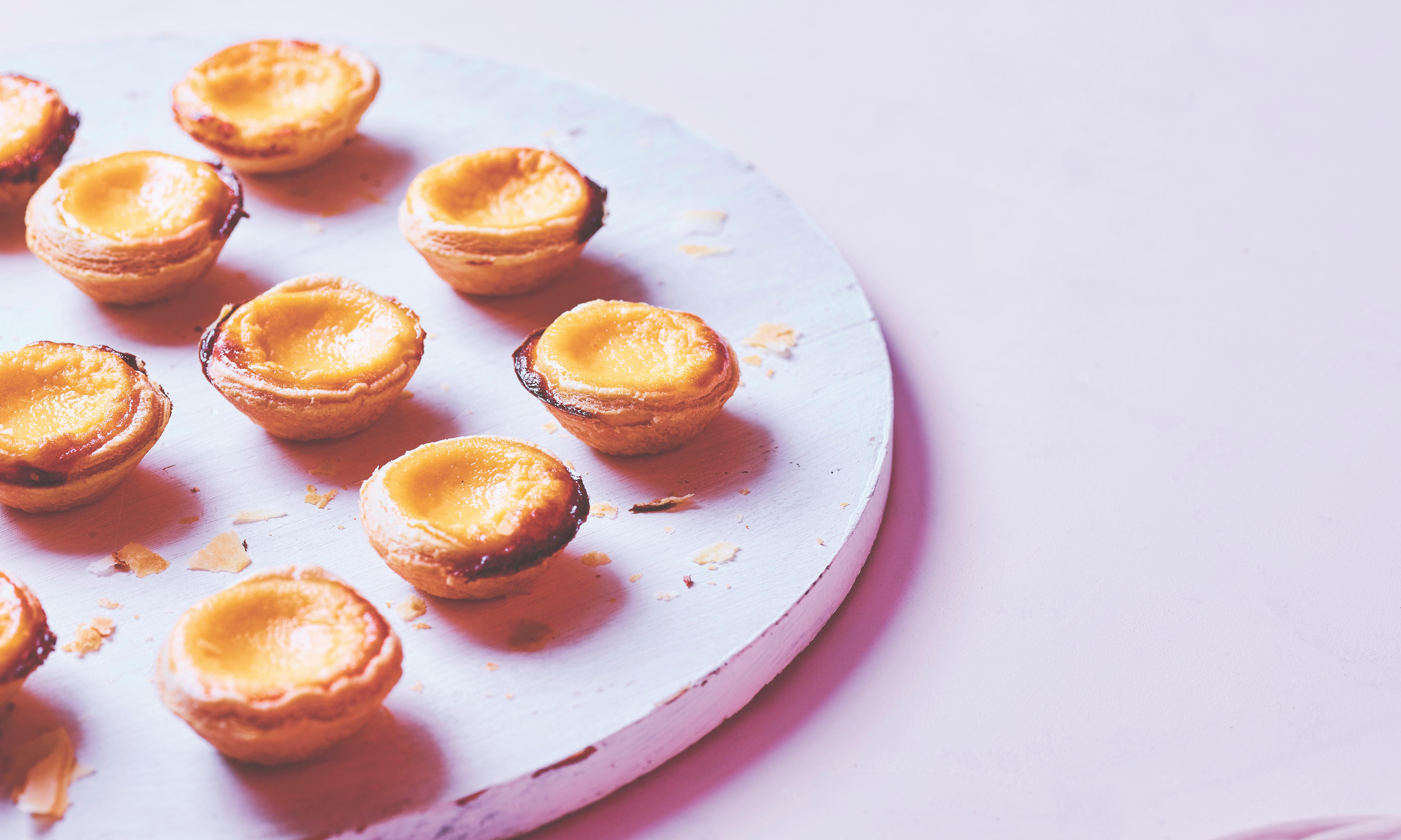 Matt Preston's Hong Kong custard tarts recipe