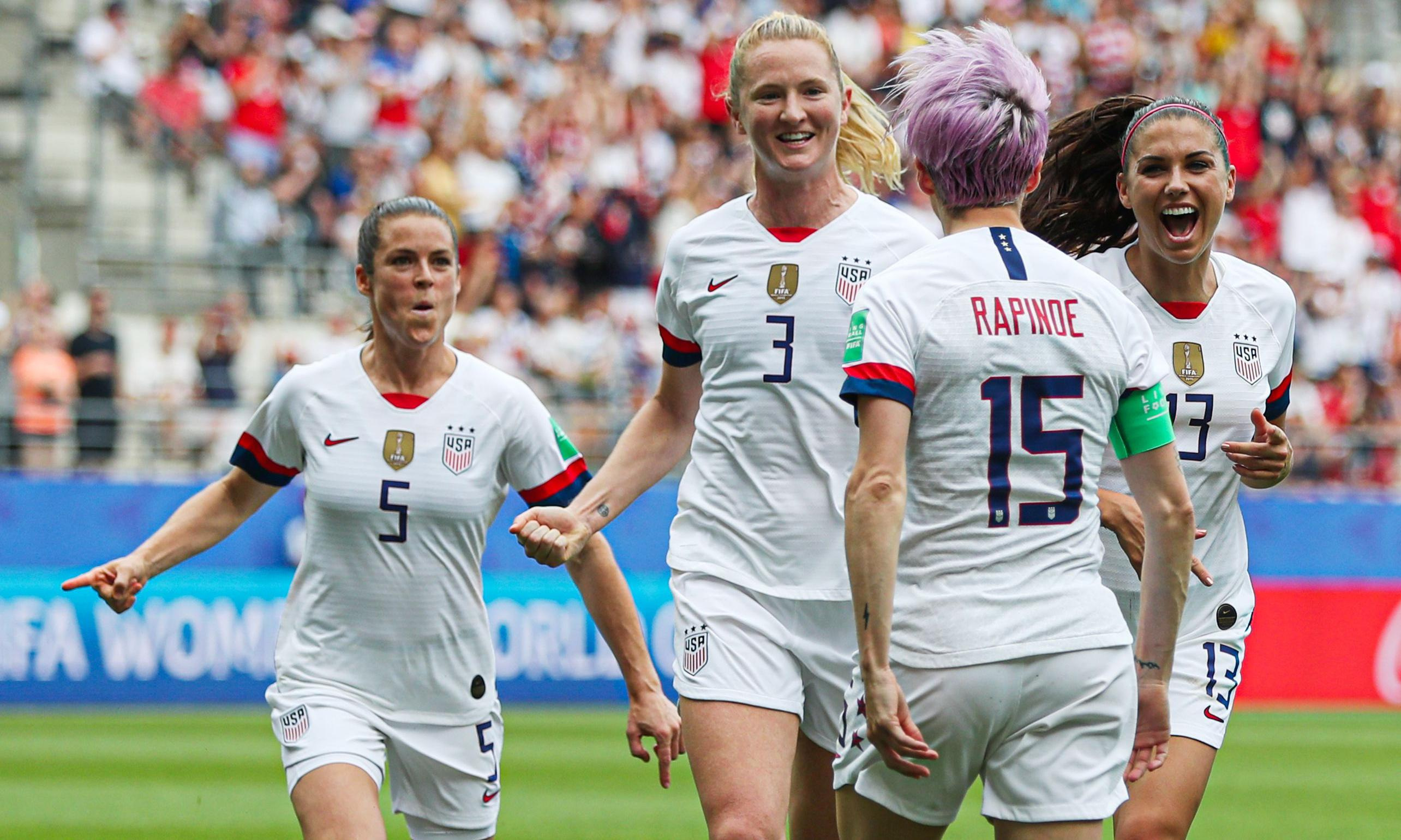 USA relish 'a total circus' as they set up France World Cup showdown