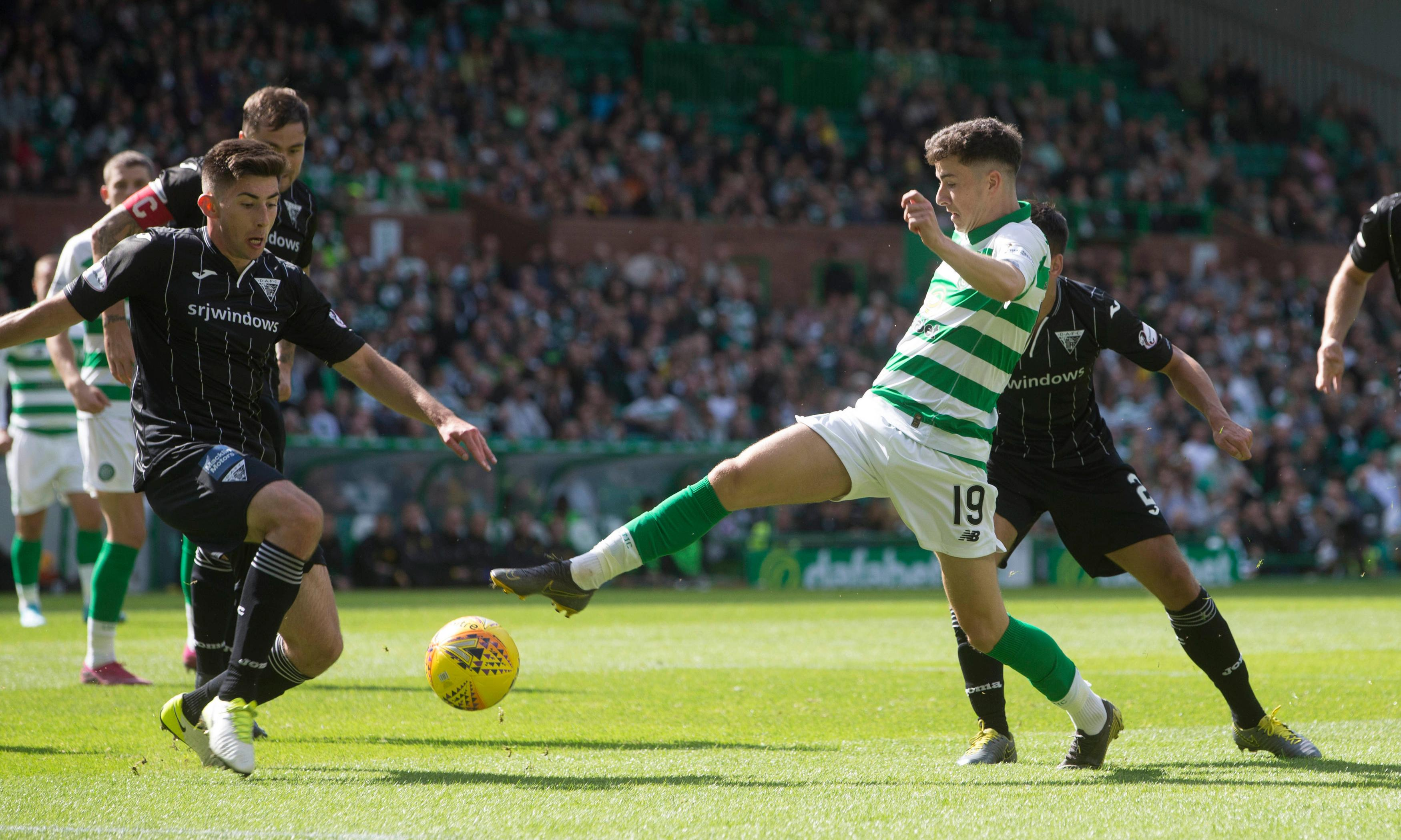 James Forrest the goal hero as Celtic toil to win over Dunfermline